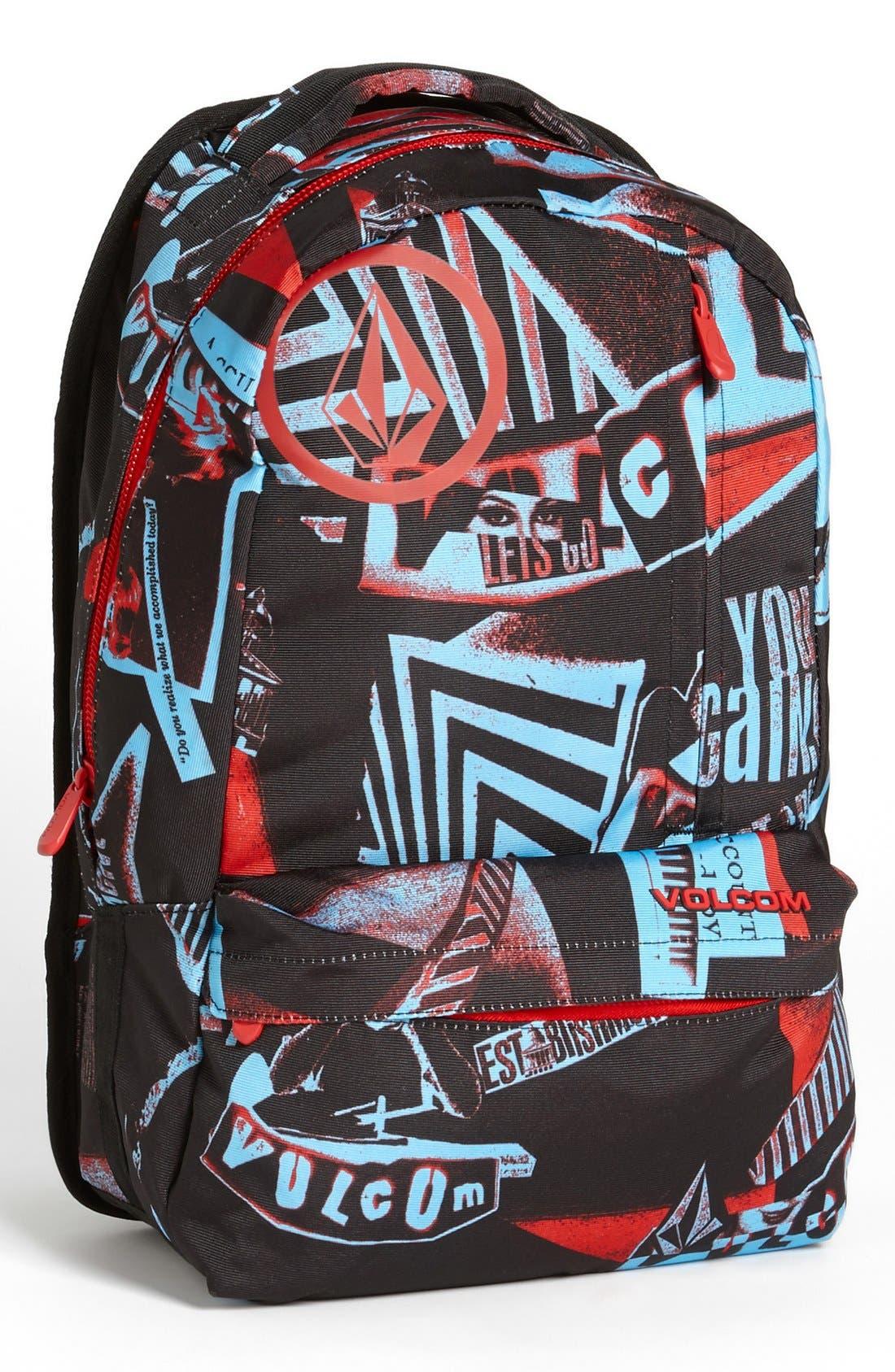 Alternate Image 1 Selected - Volcom 'Basis' Backpack (Boys)