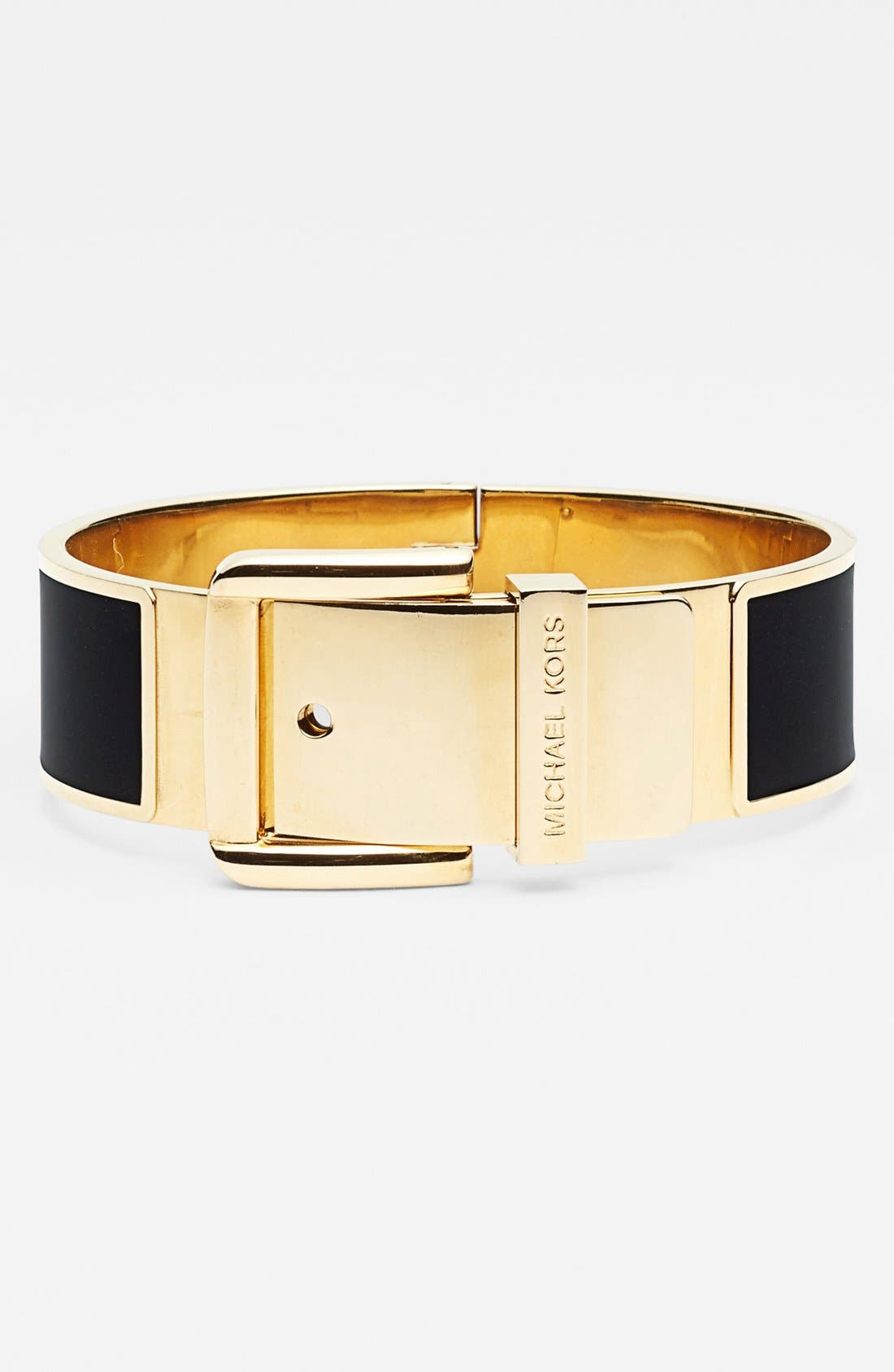 Alternate Image 1 Selected - Michael Kors Large Buckle Bangle