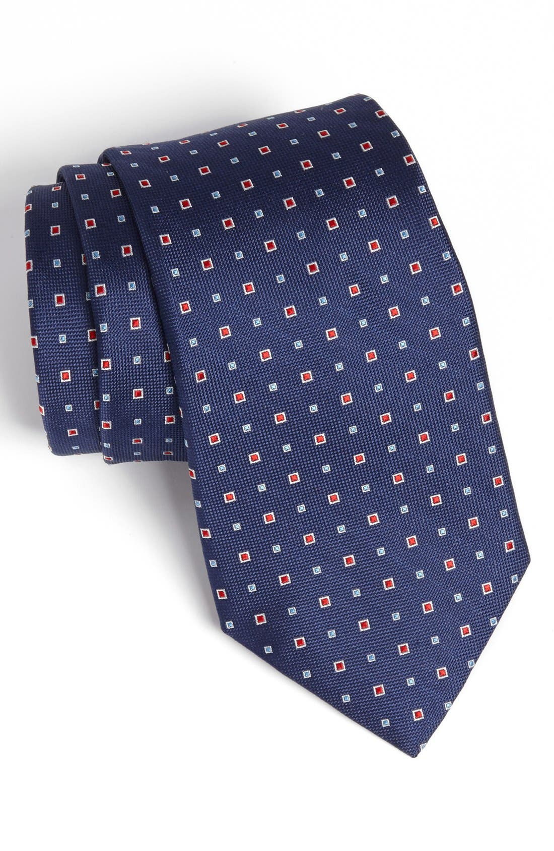 Alternate Image 1 Selected - Nordstrom Woven Silk Tie (Tall)