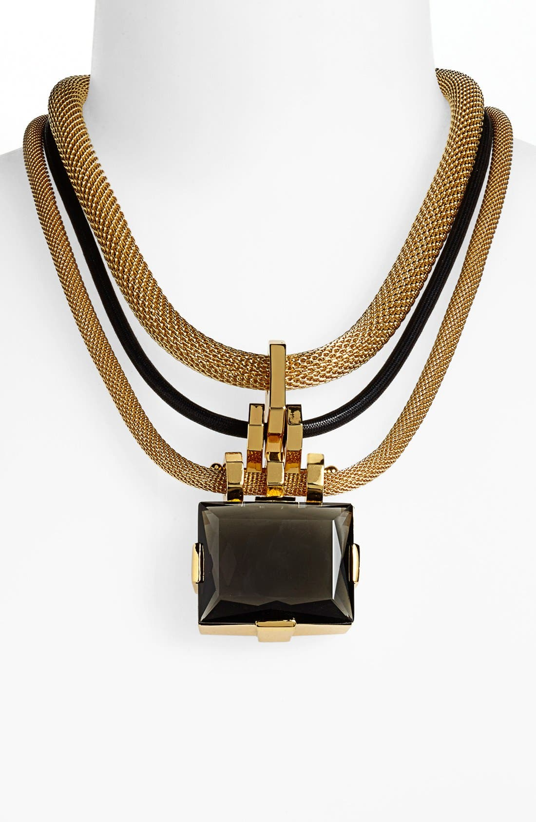 Alternate Image 1 Selected - Vince Camuto 'Tour of Duty' Multistrand Pendant Necklace