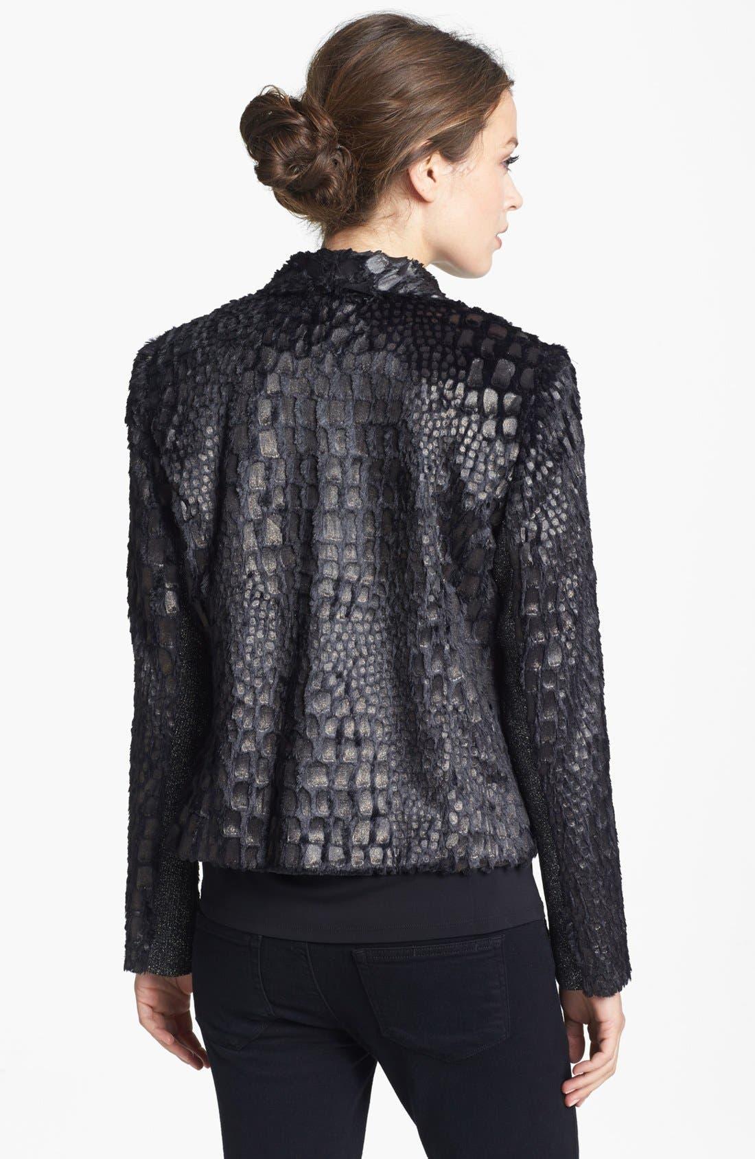 Alternate Image 2  - Alberto Makali Glazed Faux Fur Jacket