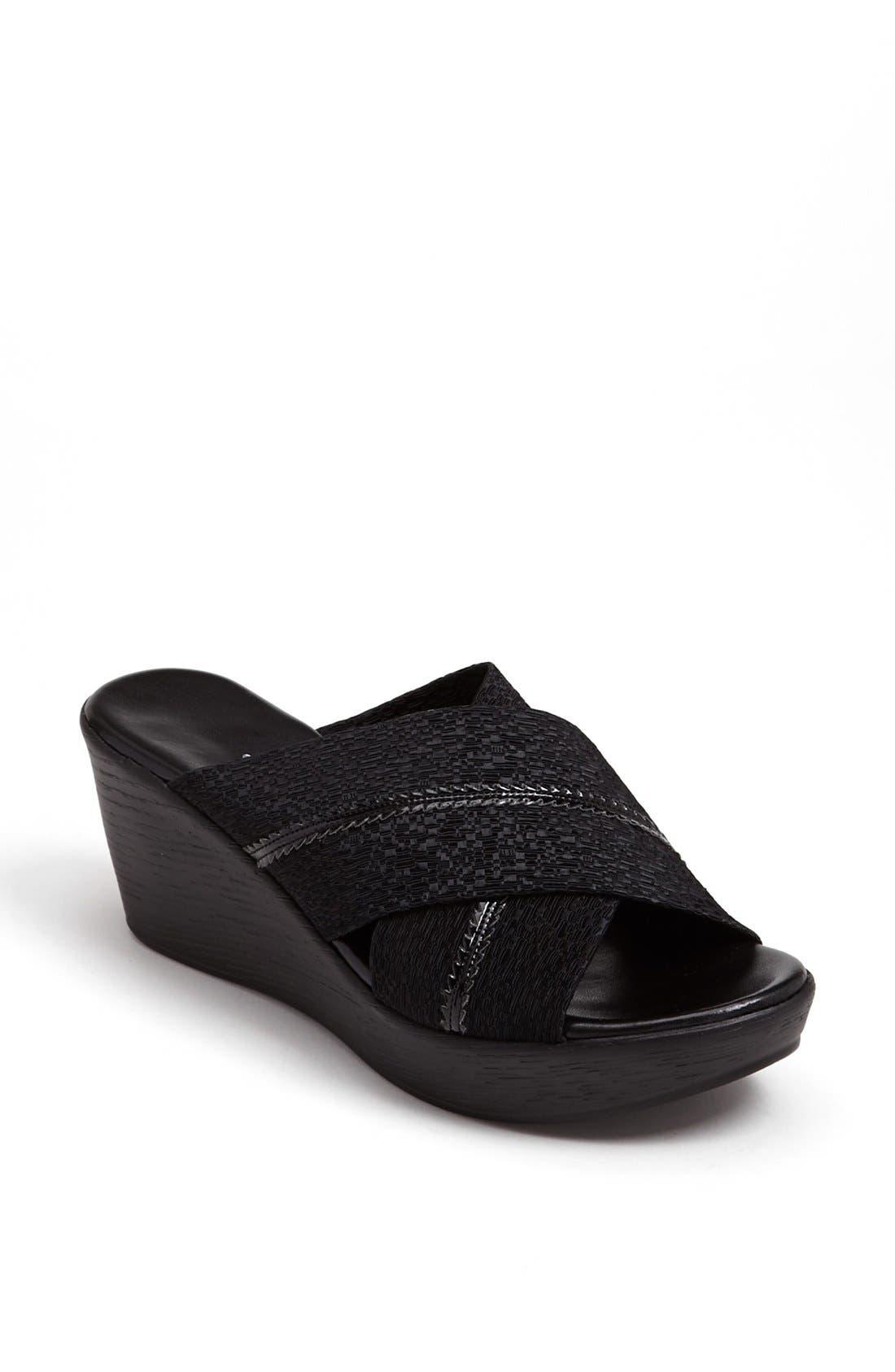 Alternate Image 1 Selected - Dezario 'Peter' Wedge Sandal