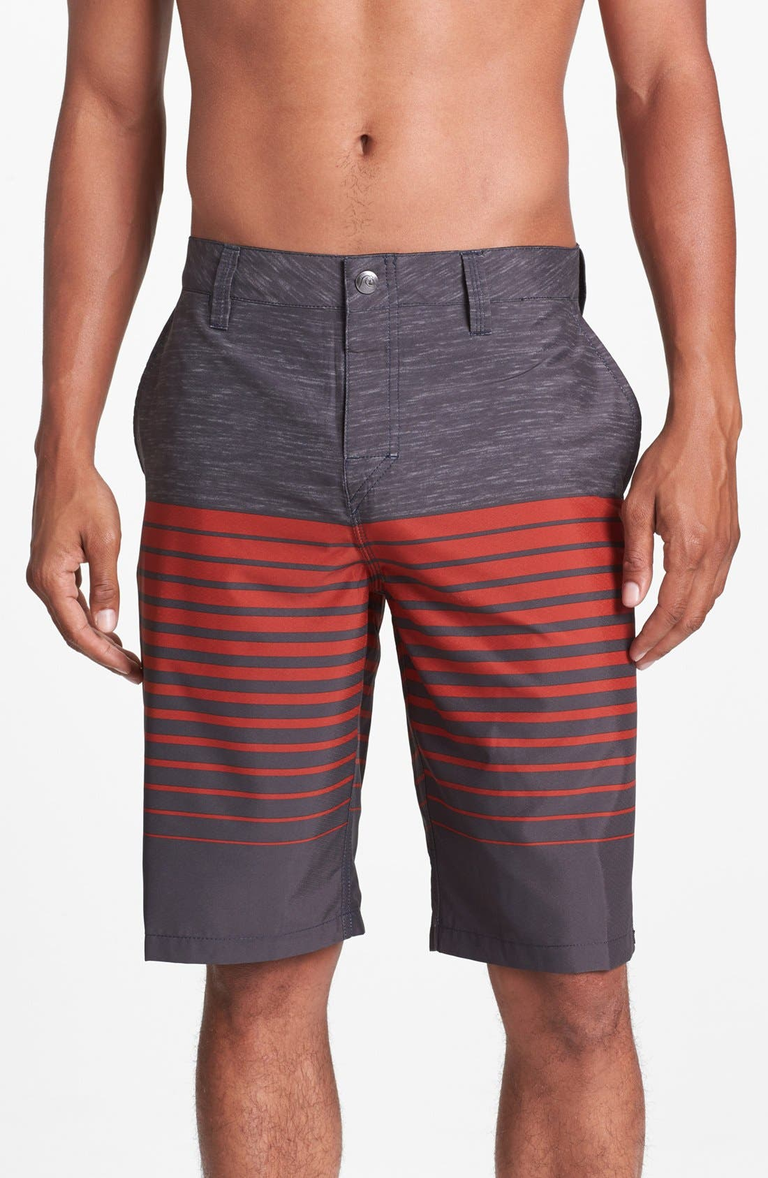 Alternate Image 1 Selected - Quiksilver 'Neolithic' Hybrid Shorts