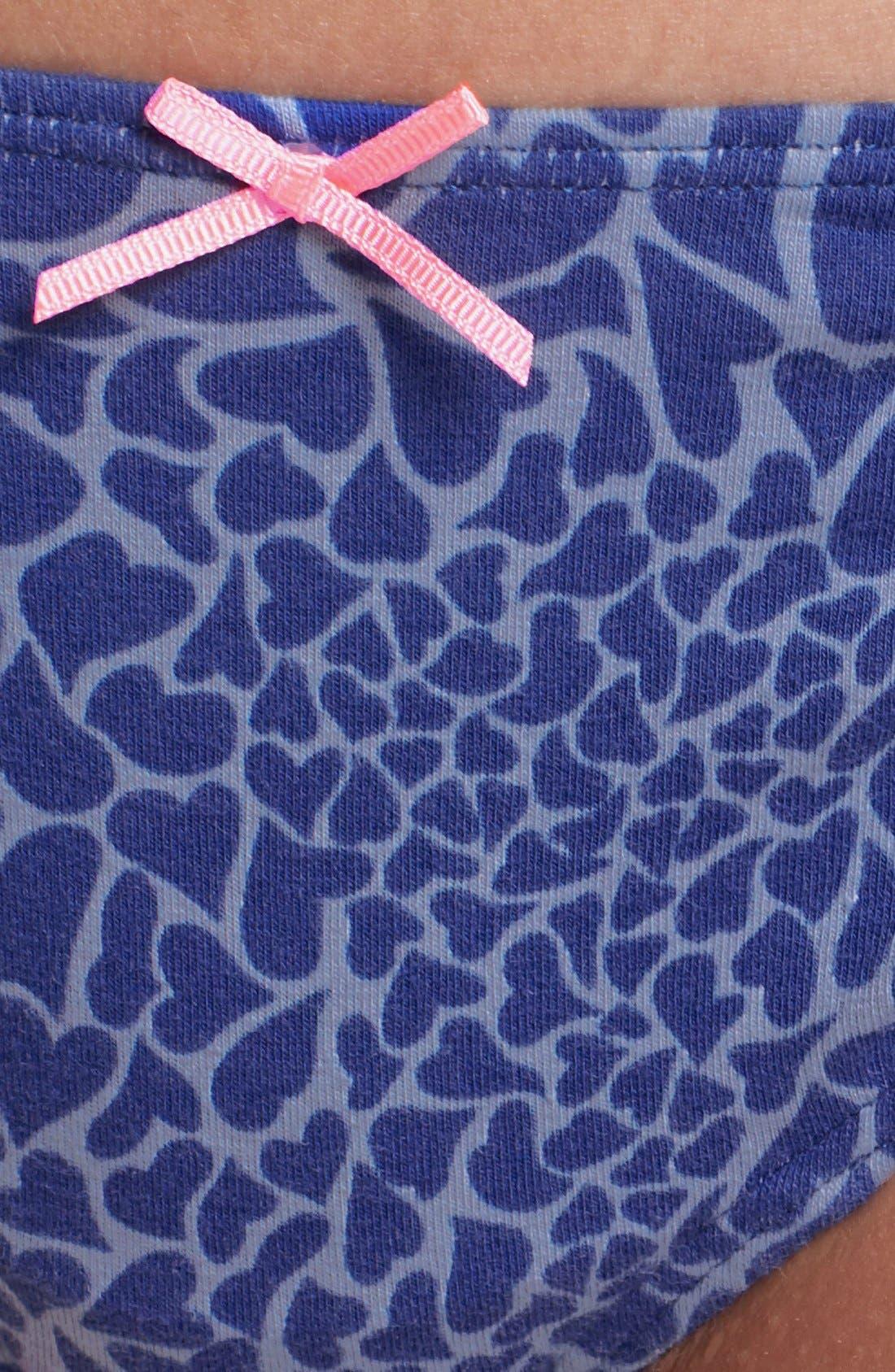 Alternate Image 3  - Make + Model Stretch Cotton Thong (5 for $25)