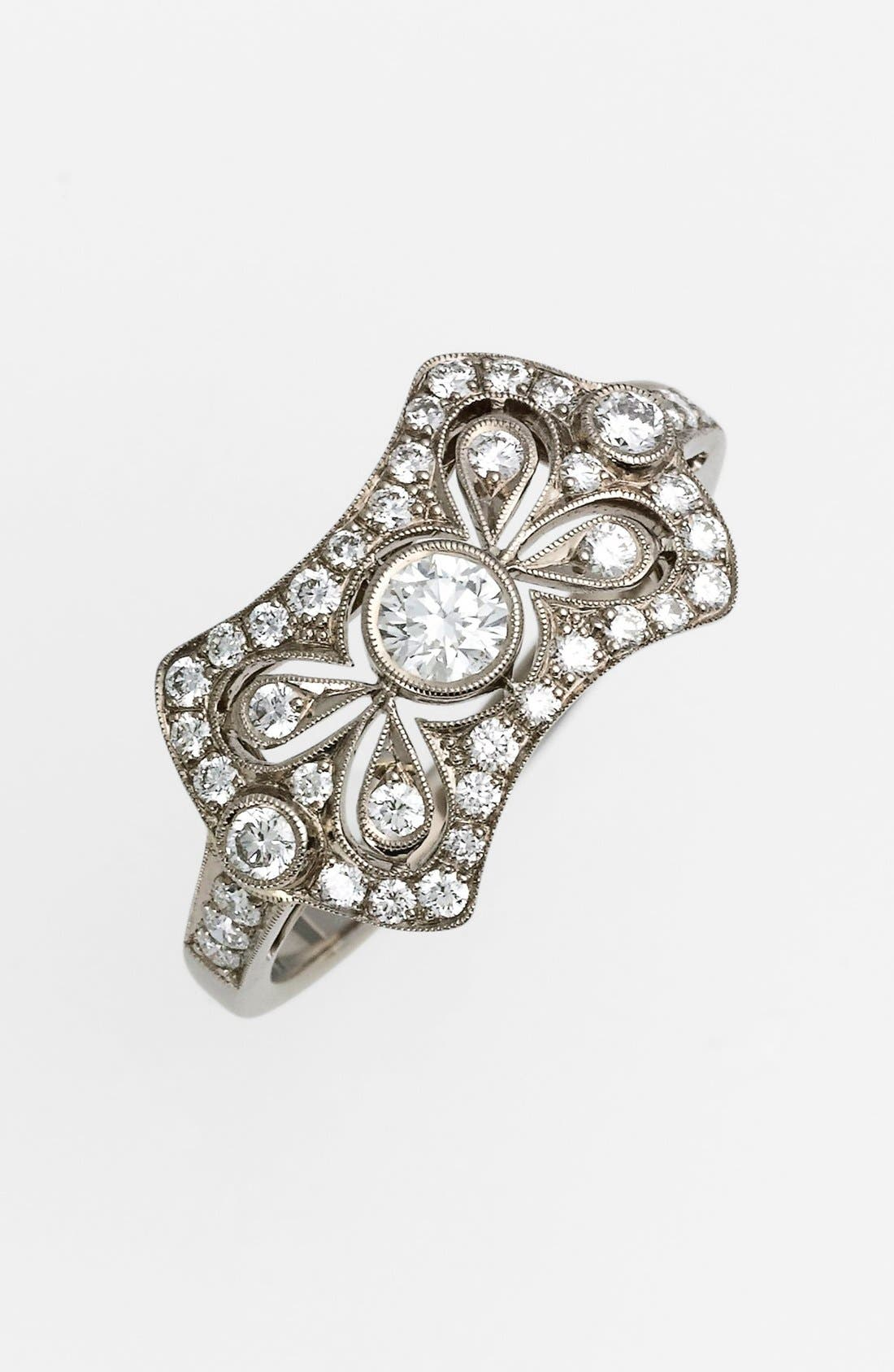 Alternate Image 1 Selected - Kwiat 'Vintage - Bow Tie' Diamond Ring