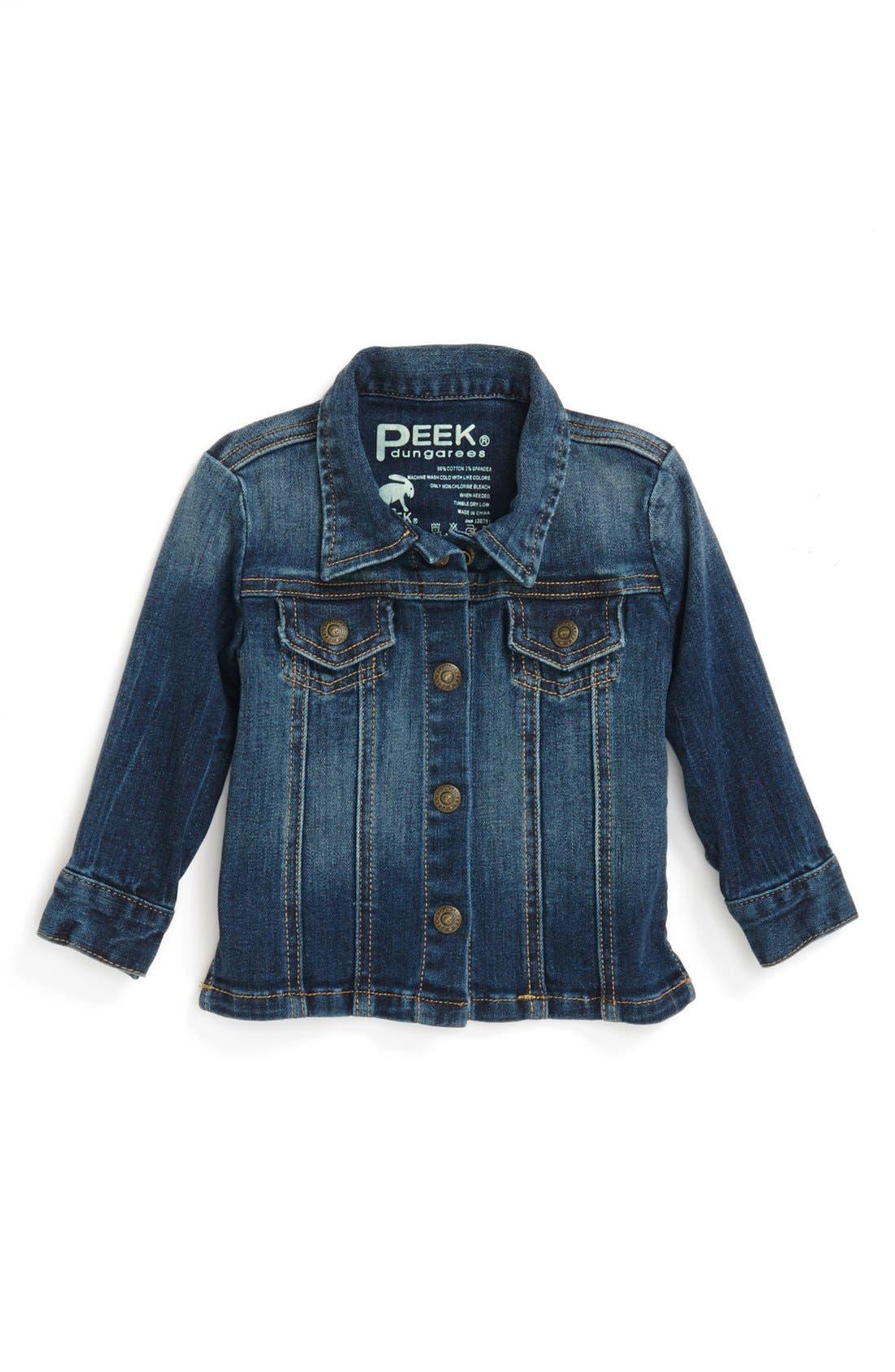 Main Image - Peek 'Scarpa' Jacket (Baby Girls)