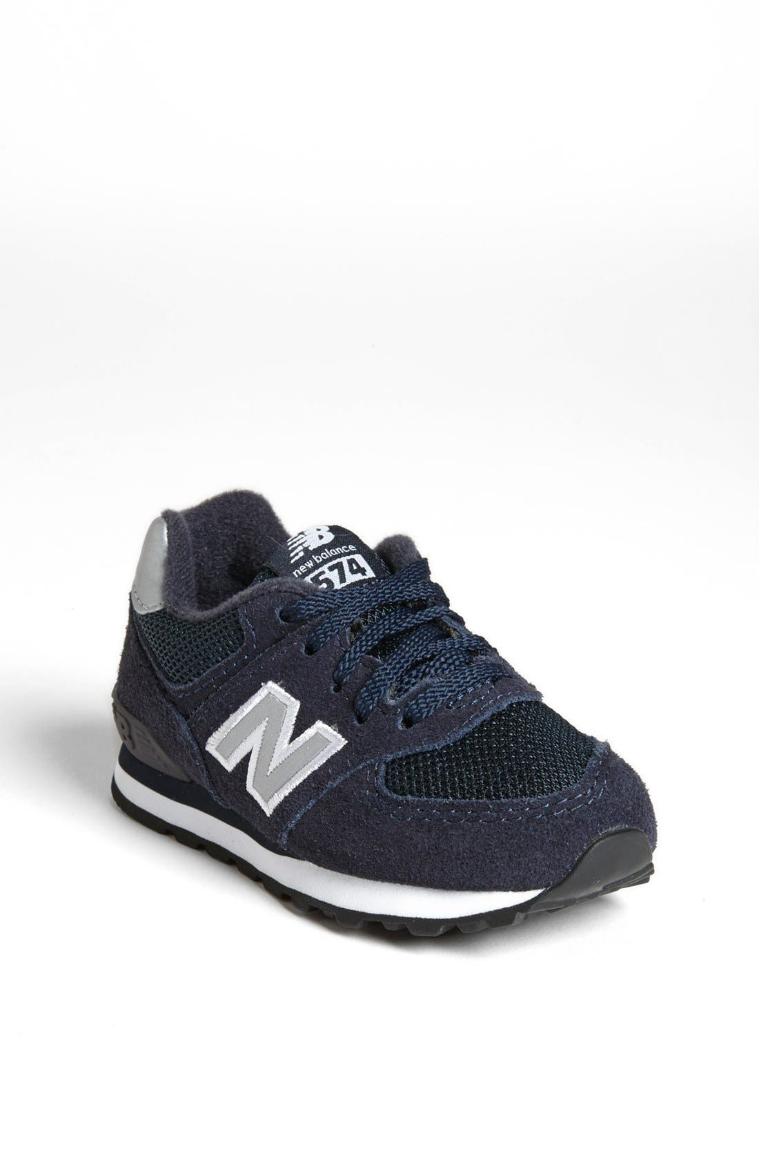 Alternate Image 1 Selected - New Balance '574' Sneaker (Baby, Walker & Toddler)