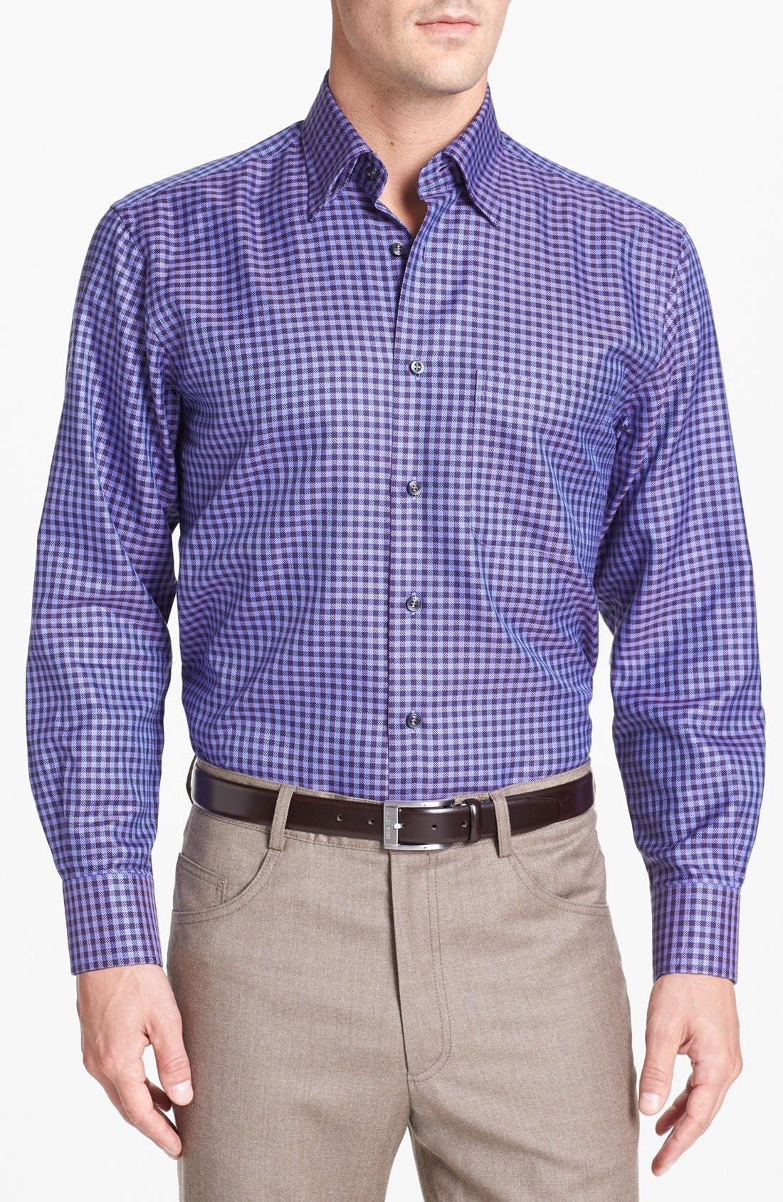 Alternate Image 1 Selected - Robert Talbott Regular Fit Sport Shirt