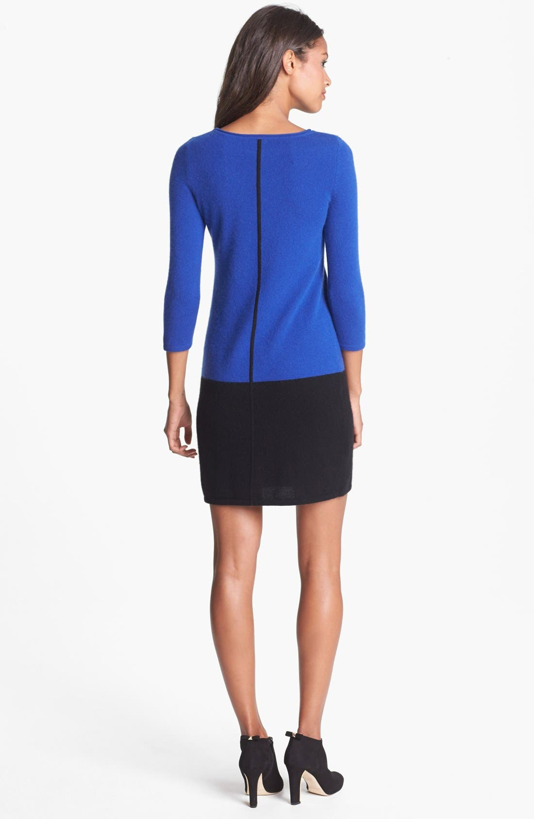 Alternate Image 2  - Only Mine Colorblock Sweater Dress