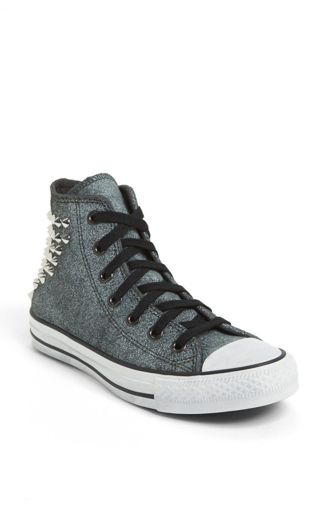 Alternate Image 1 Selected - Converse Chuck Taylor® All Star® 'Collar Studs' High Top Sneaker (Women)
