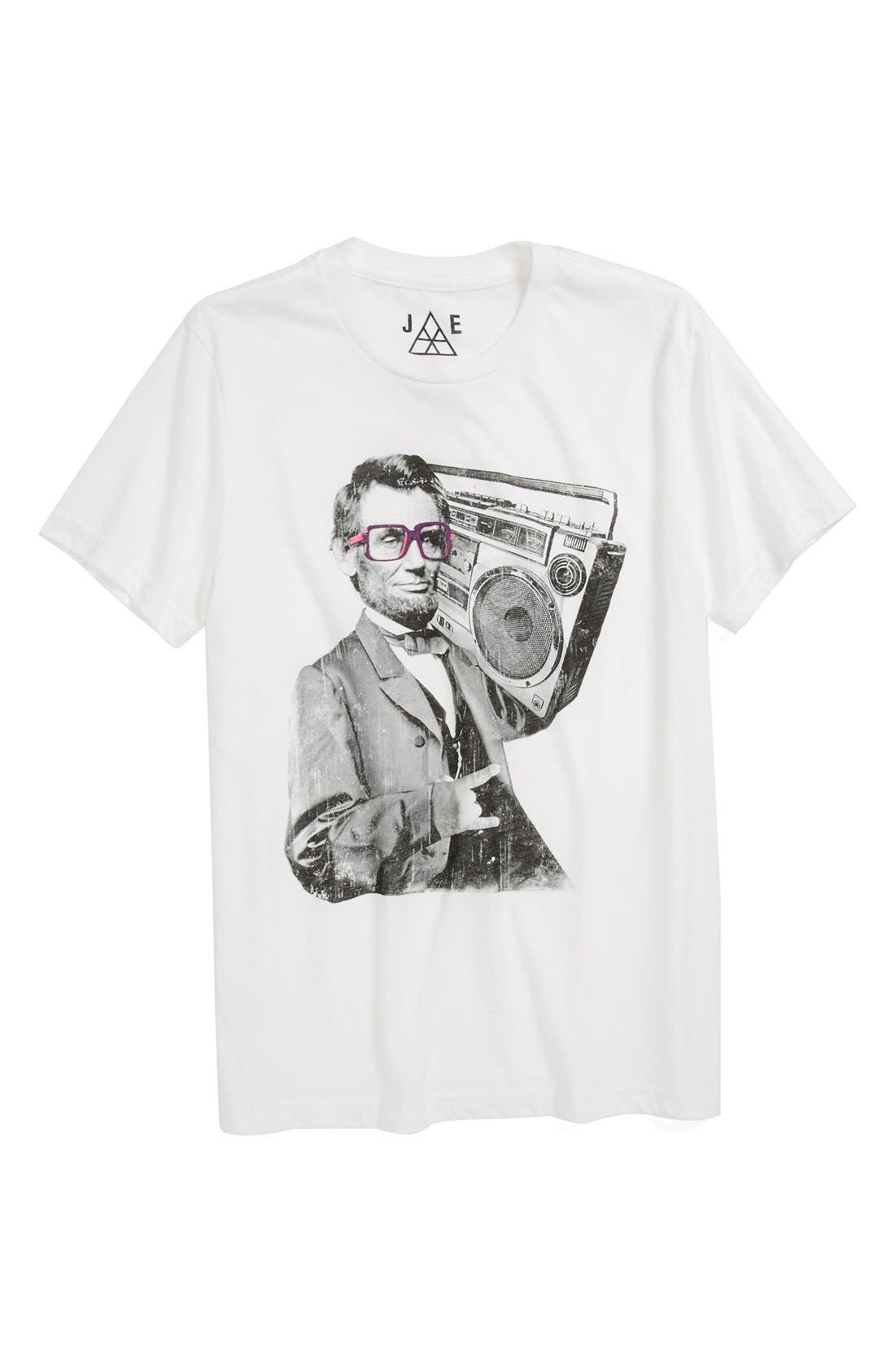 Alternate Image 1 Selected - Jem 'Bad Lincoln' T-Shirt (Little Boys)