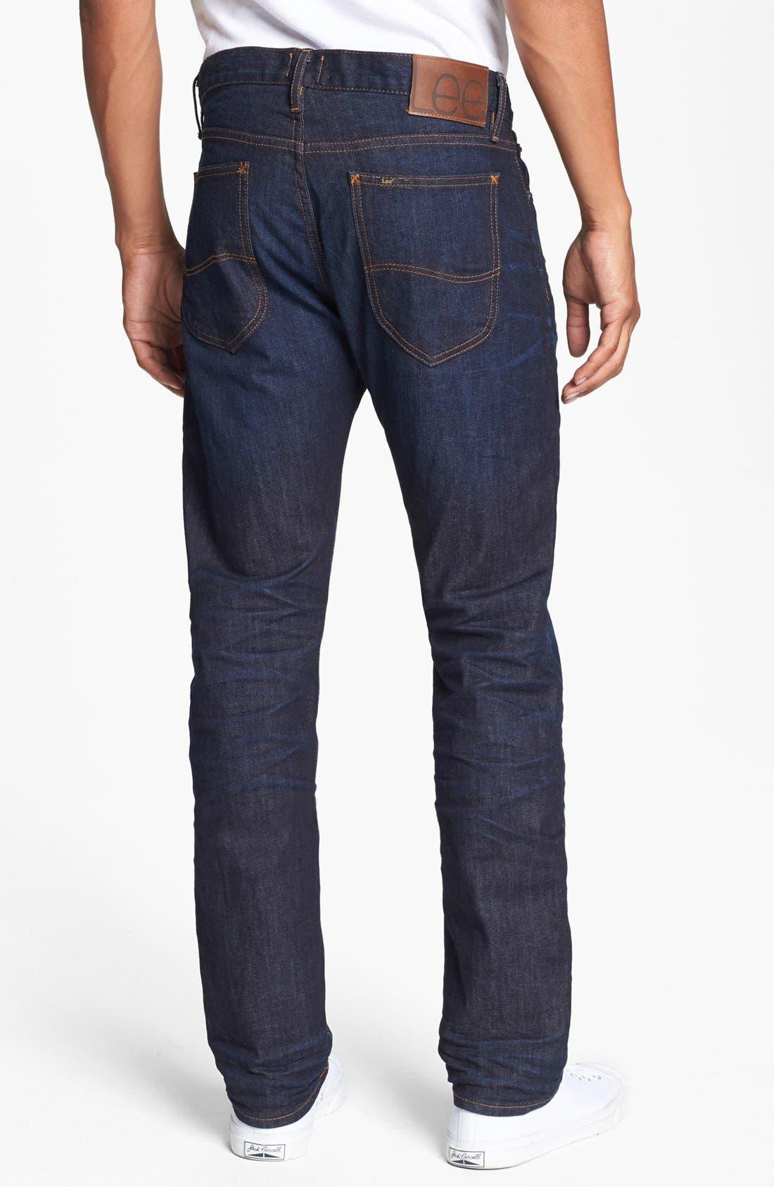 Alternate Image 2  - Lee 101 USA Straight Leg Jeans (30 Days)