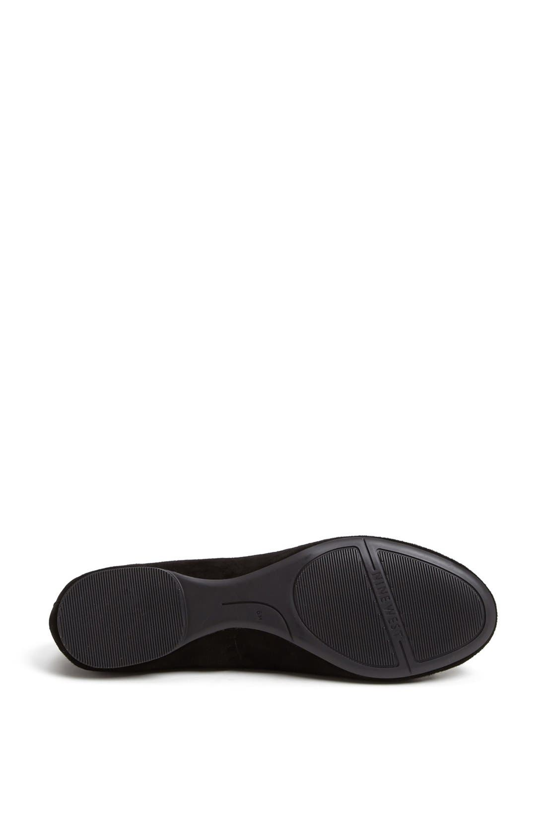 Alternate Image 4  - Nine West 'Classica' Ballet Flat (Online Only)