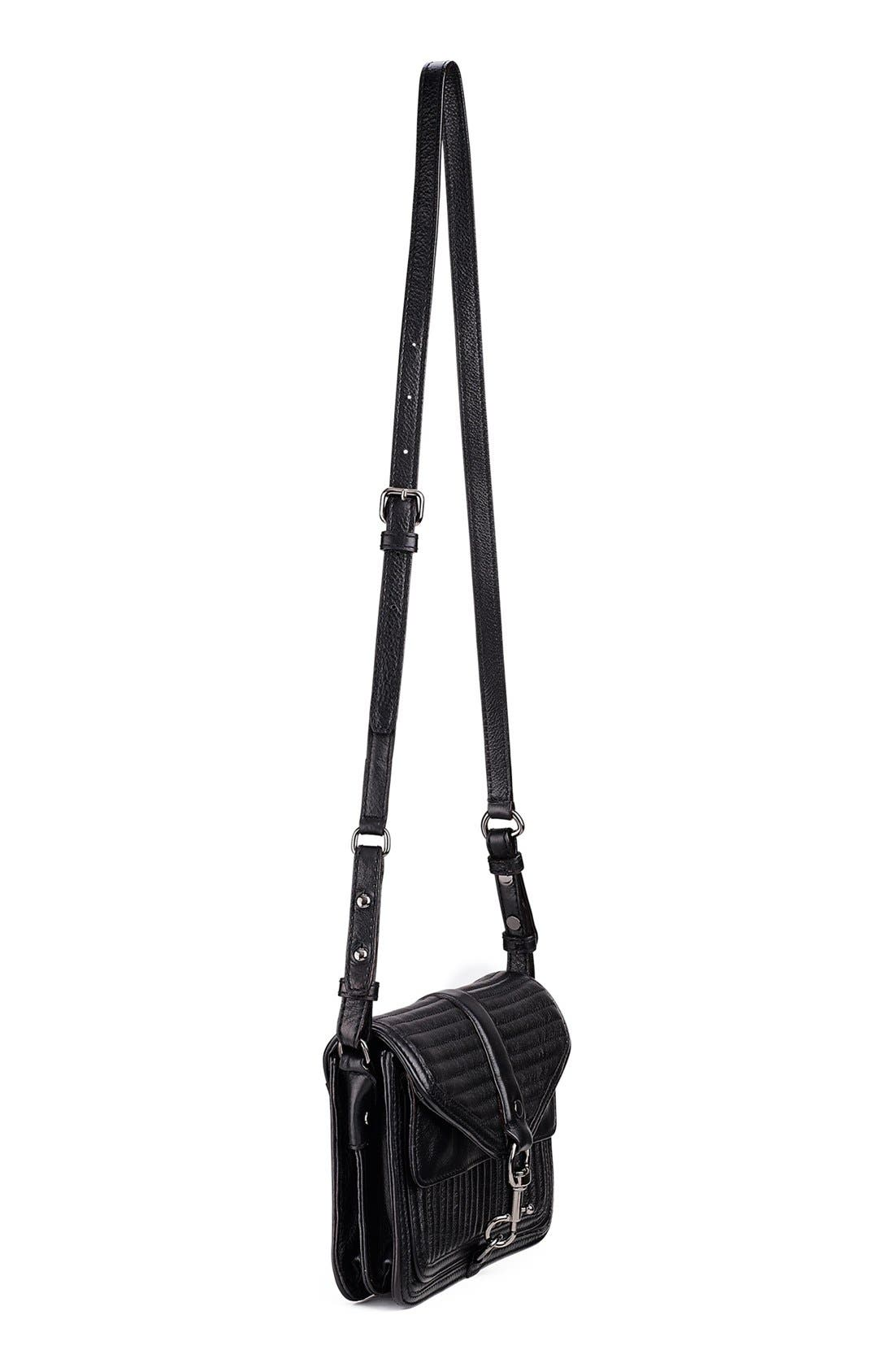 Alternate Image 2  - Rebecca Minkoff 'Hudson - Moto Mini' Crossbody Bag