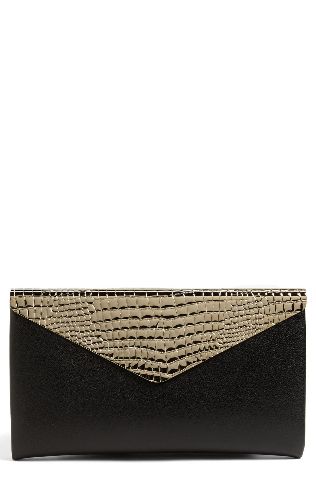 Alternate Image 1 Selected - Jimmy Choo 'Charlize' Envelope Clutch
