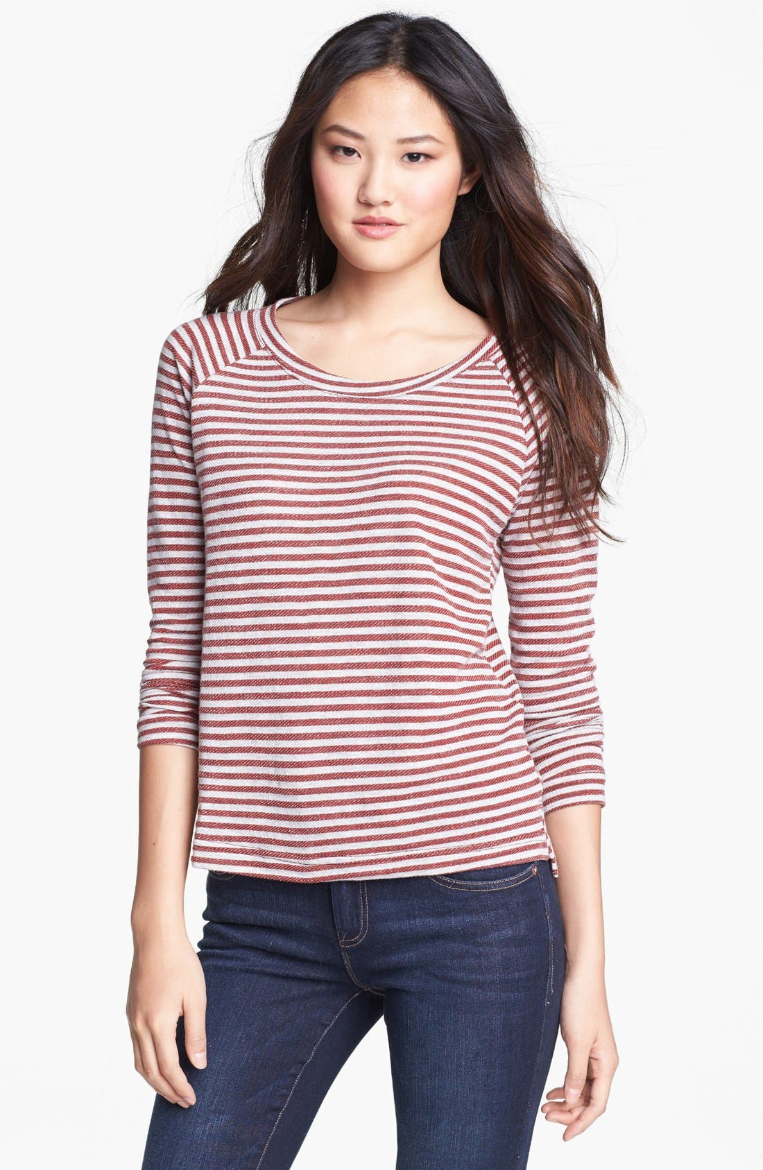 Alternate Image 1 Selected - KUT from the Kloth Stripe Tee