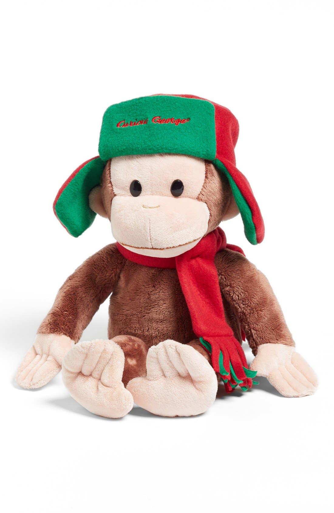Main Image - Gund 'Curious George™ Trapper' Stuffed Animal