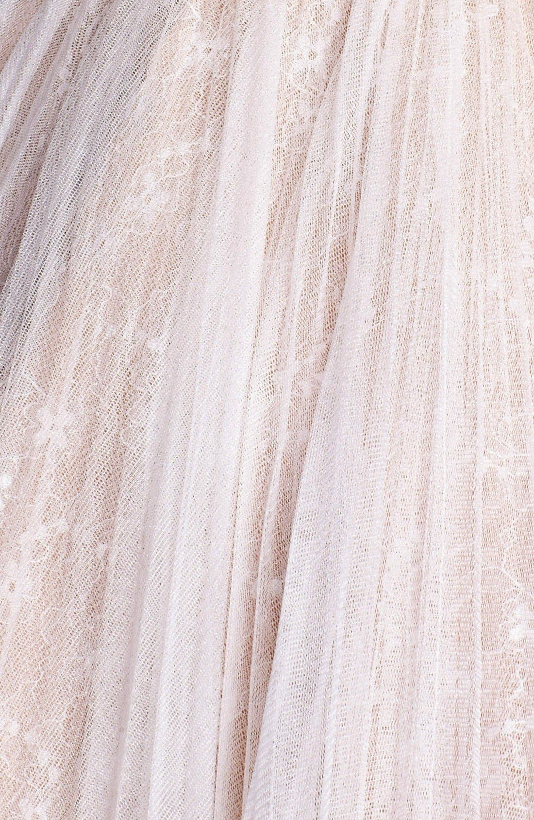 Alternate Image 3  - Sherri Hill Embellished Lace Fit & Flare Dress