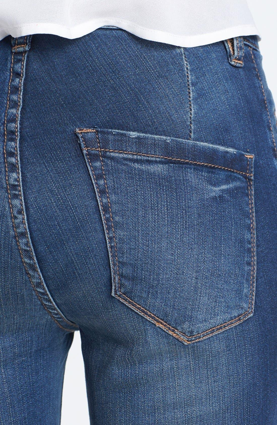 Alternate Image 3  - BLANKNYC 'Short Stack' Flare Leg Jeans
