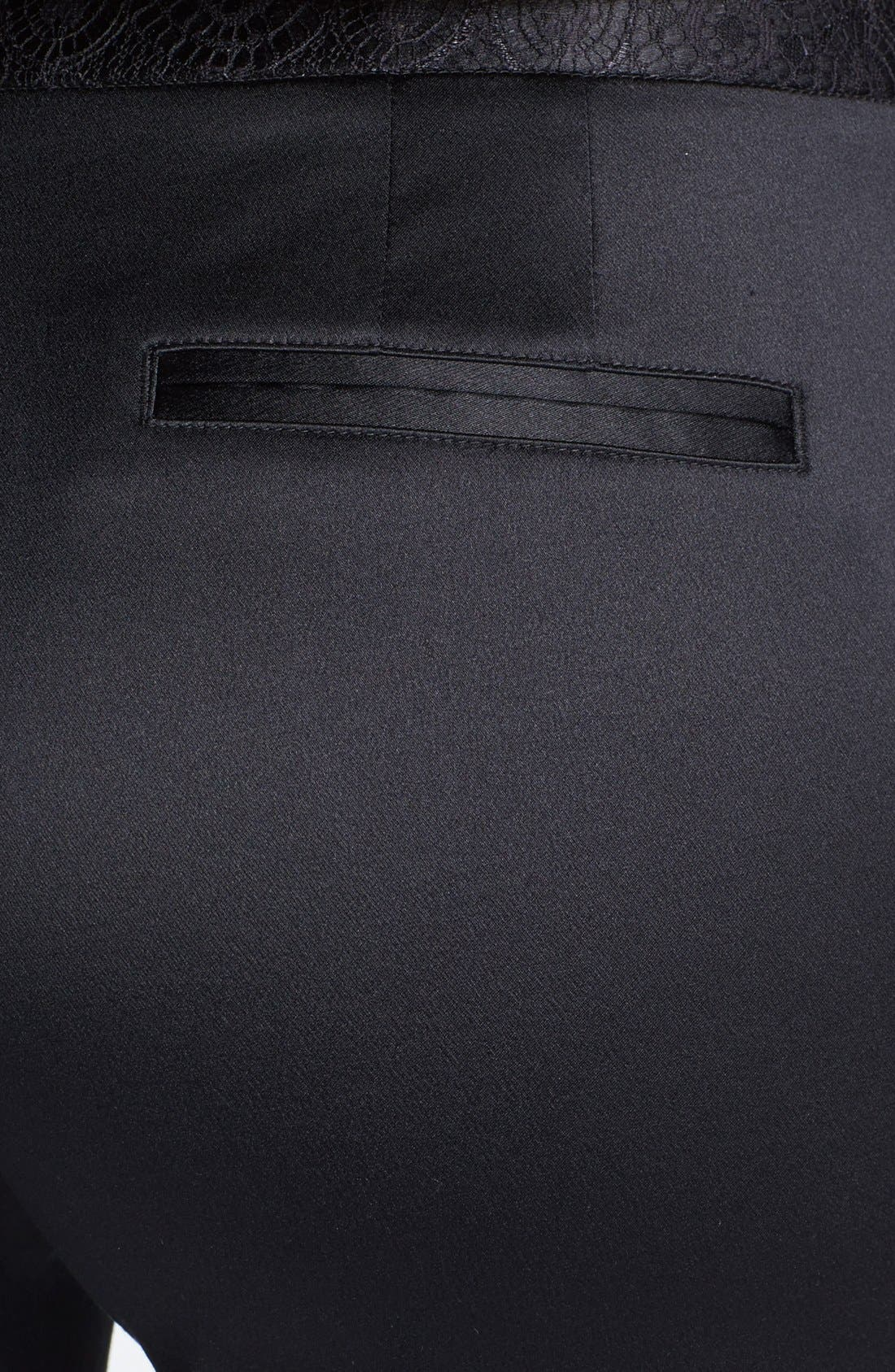 Alternate Image 3  - Tory Burch 'Geoff' Silk Blend Pants