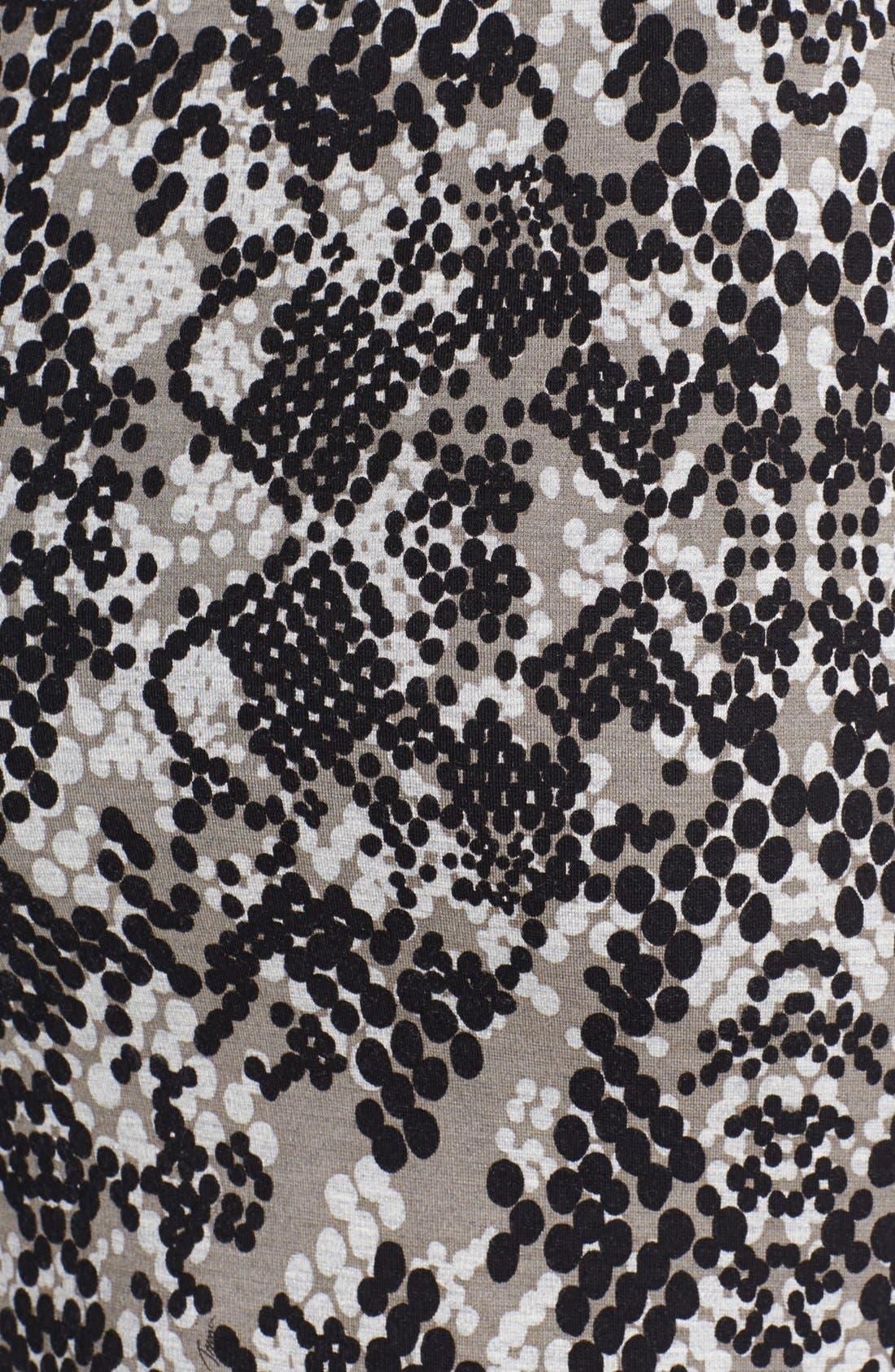 Alternate Image 3  - Trina Turk 'Candra' Print Ponte Skirt