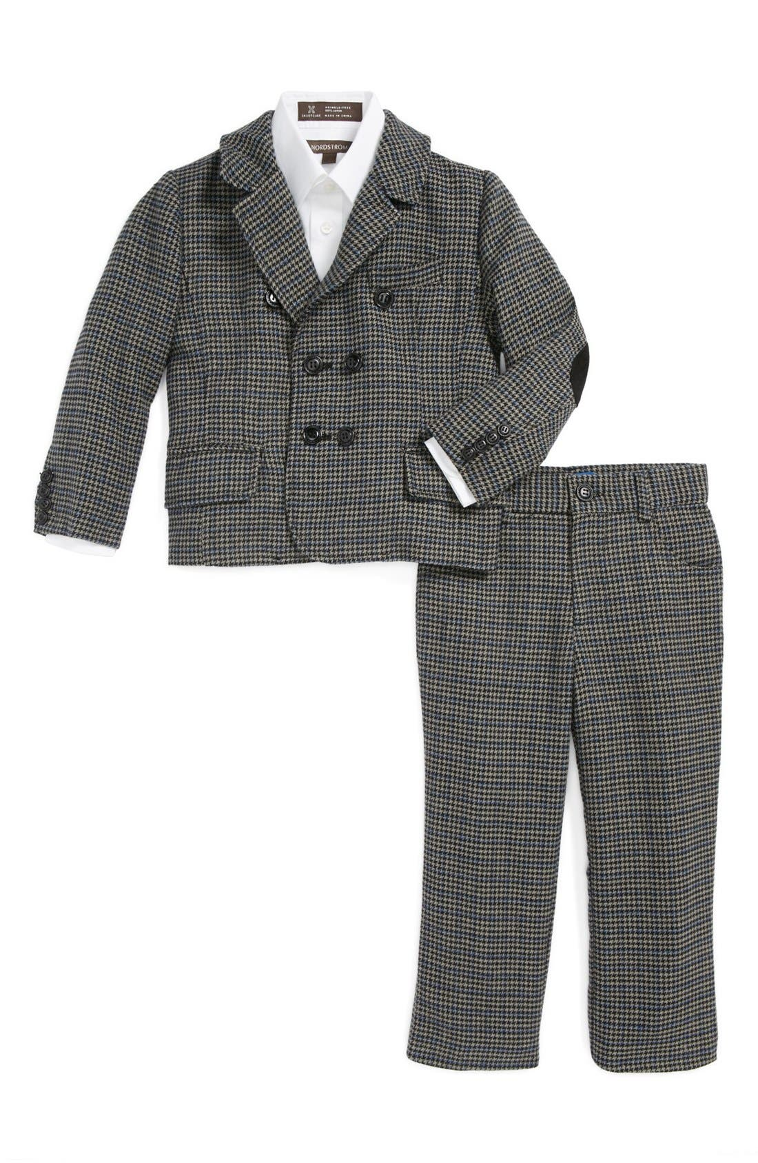Alternate Image 1 Selected - Andy & Evan for little gentlemen Two-Piece Wool Suit (Toddler Boys)