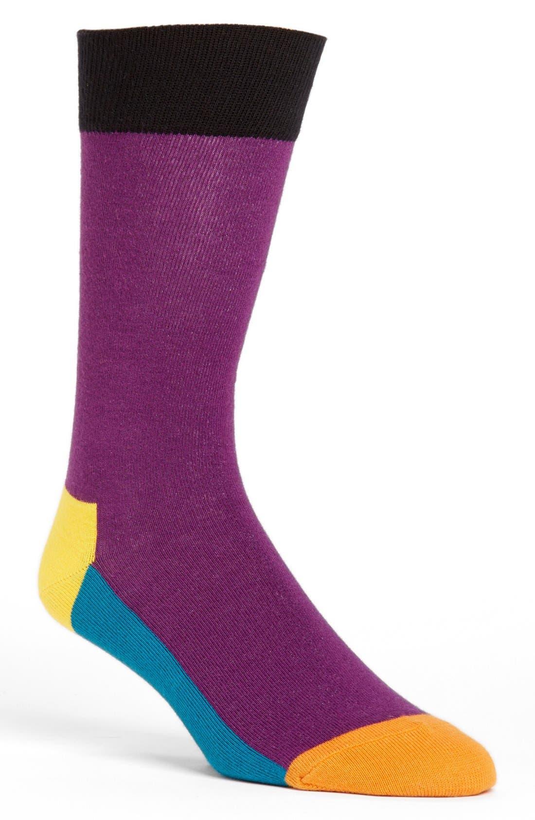 Main Image - Happy Socks 'Five Color' Socks
