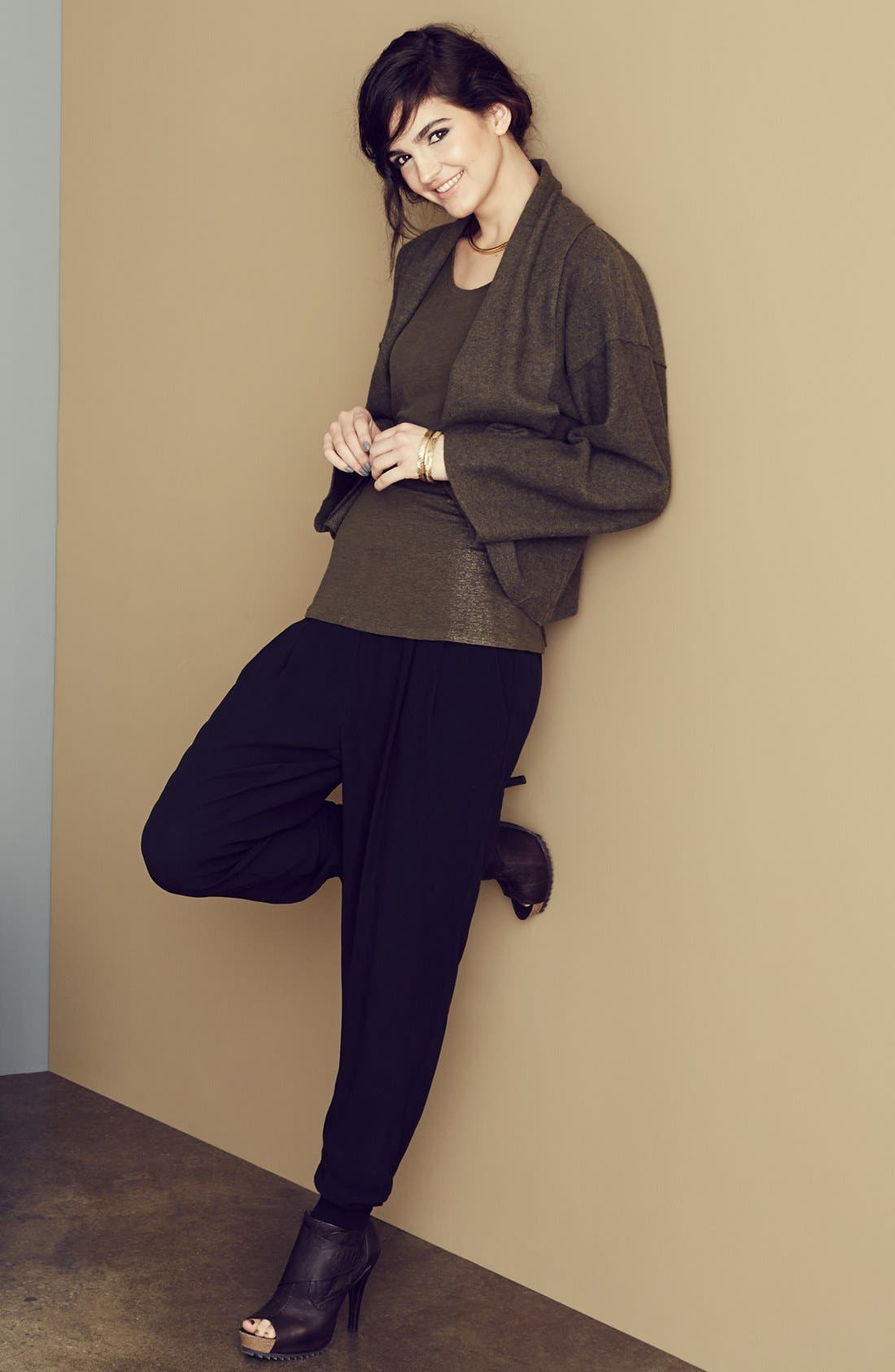 Alternate Image 1 Selected - Eileen Fisher Jacket & Accessories