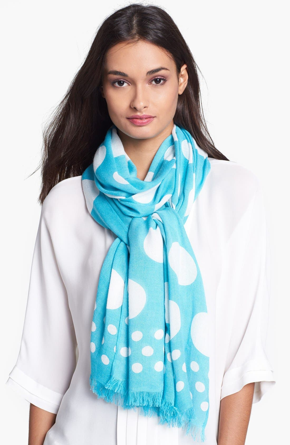 Alternate Image 1 Selected - kate spade new york 'tinsel town' scarf