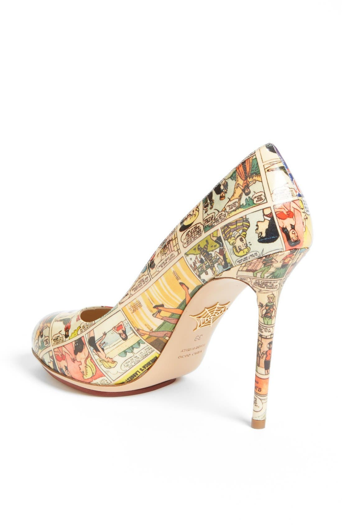 Alternate Image 2  - Charlotte Olympia 'Jennifer Comic' Pump (Nordstrom Exclusive)