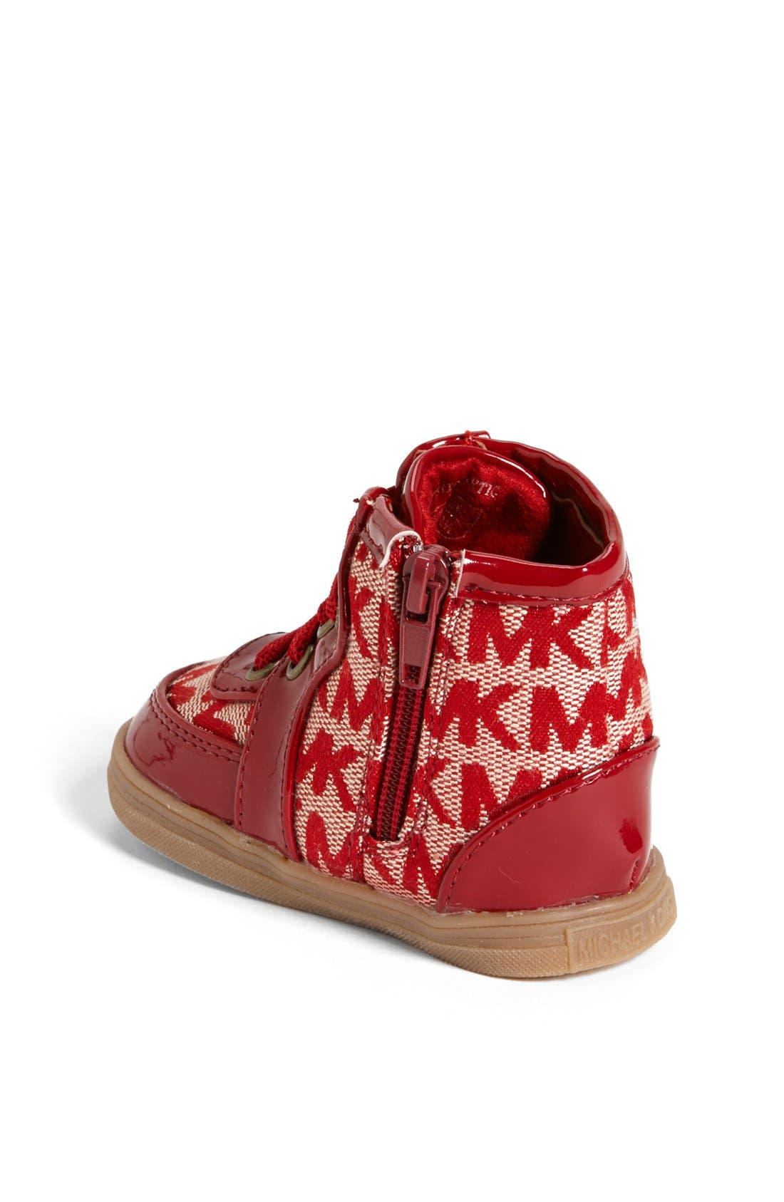 Alternate Image 2  - MICHAEL Michael Kors 'Ivy' Crib Shoe (Baby)