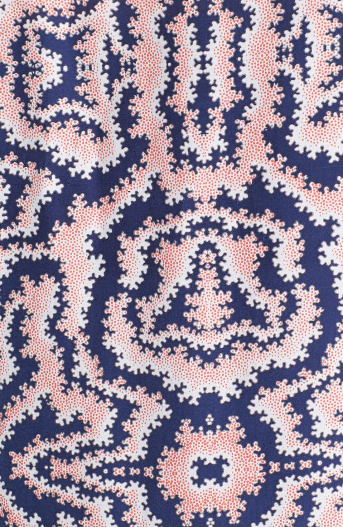 Alternate Image 3  - Sejour Embellished Crepe Shell (Plus Size)