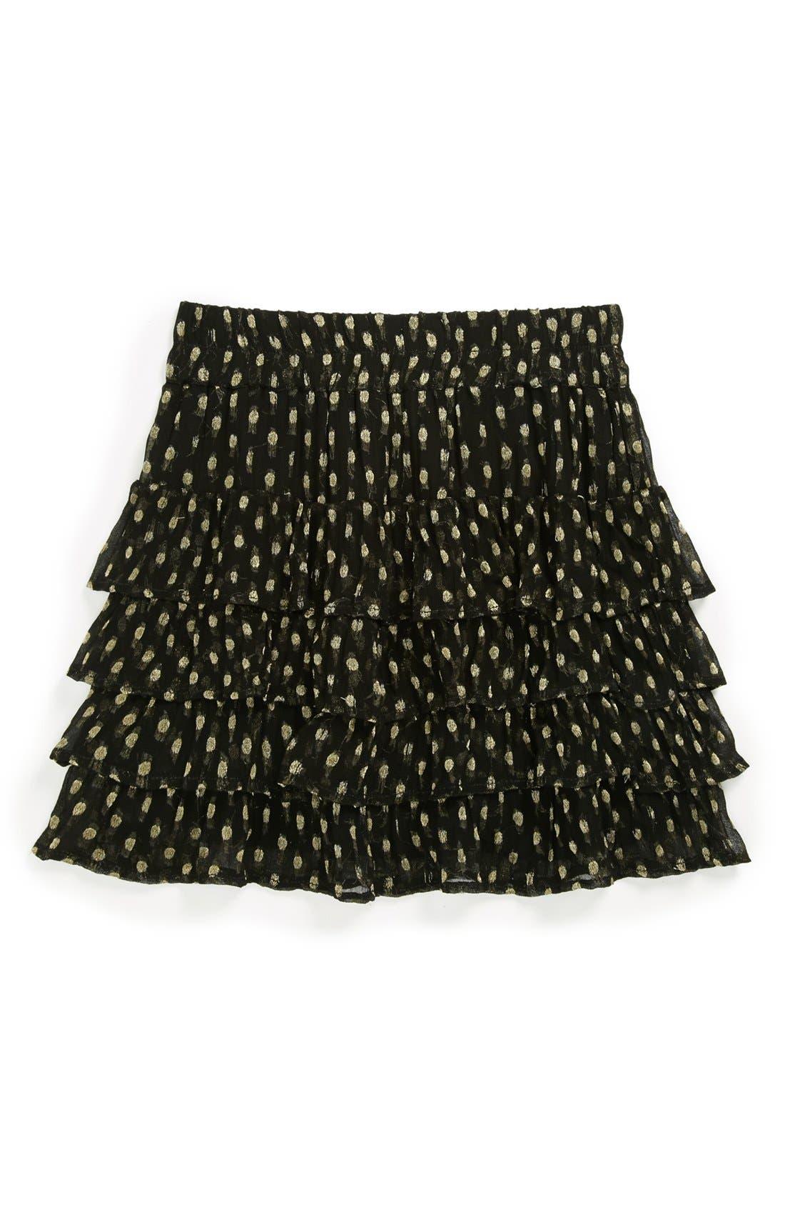 Alternate Image 1 Selected - Ruby & Bloom 'Leila' Ruffle Skirt (Little Girls & Big Girls)