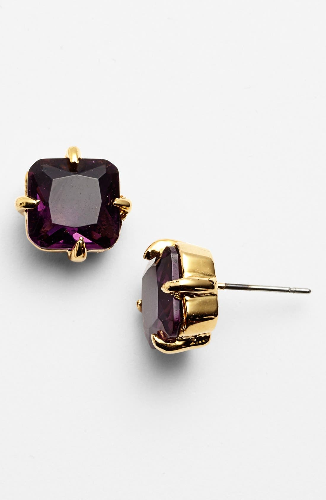 Alternate Image 1 Selected - Vince Camuto 'Jewel Purpose' Square Stone Stud Earrings