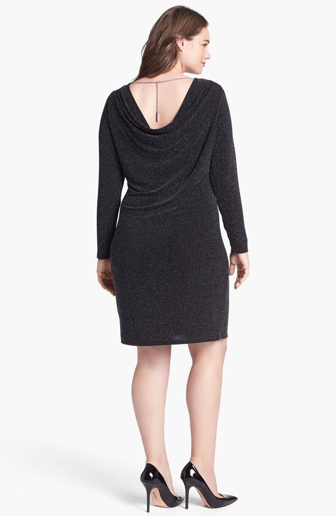 Alternate Image 2  - MICHAEL Michael Kors Back Drape Dress