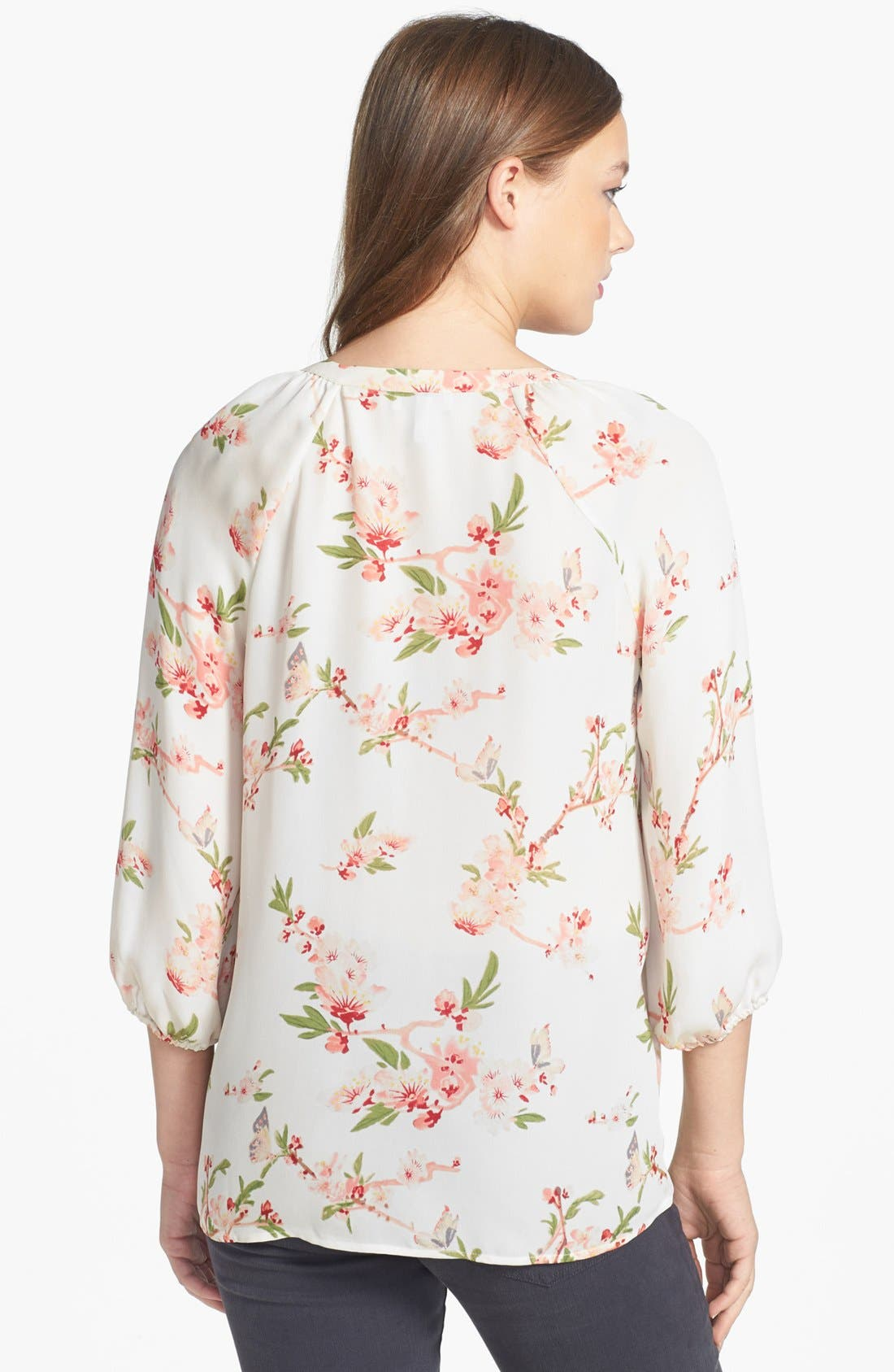 Alternate Image 2  - Joie 'Kade' Print Silk Blouse