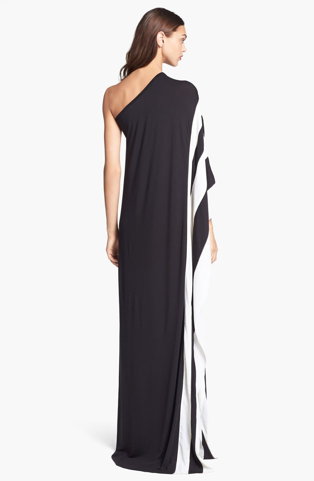 Alternate Image 2  - Rachel Zoe 'Azur' One Shoulder Jersey Maxi Dress