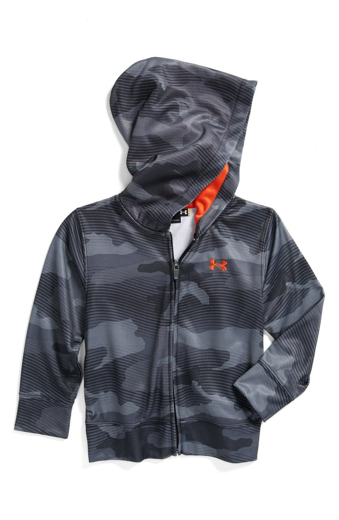 Alternate Image 1 Selected - Under Armour 'Future Camo' Hoodie (Toddler Boys)