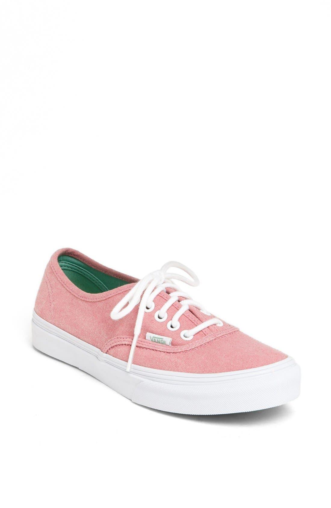 Main Image - Vans 'Authentic - Slim' Sneaker (Women)