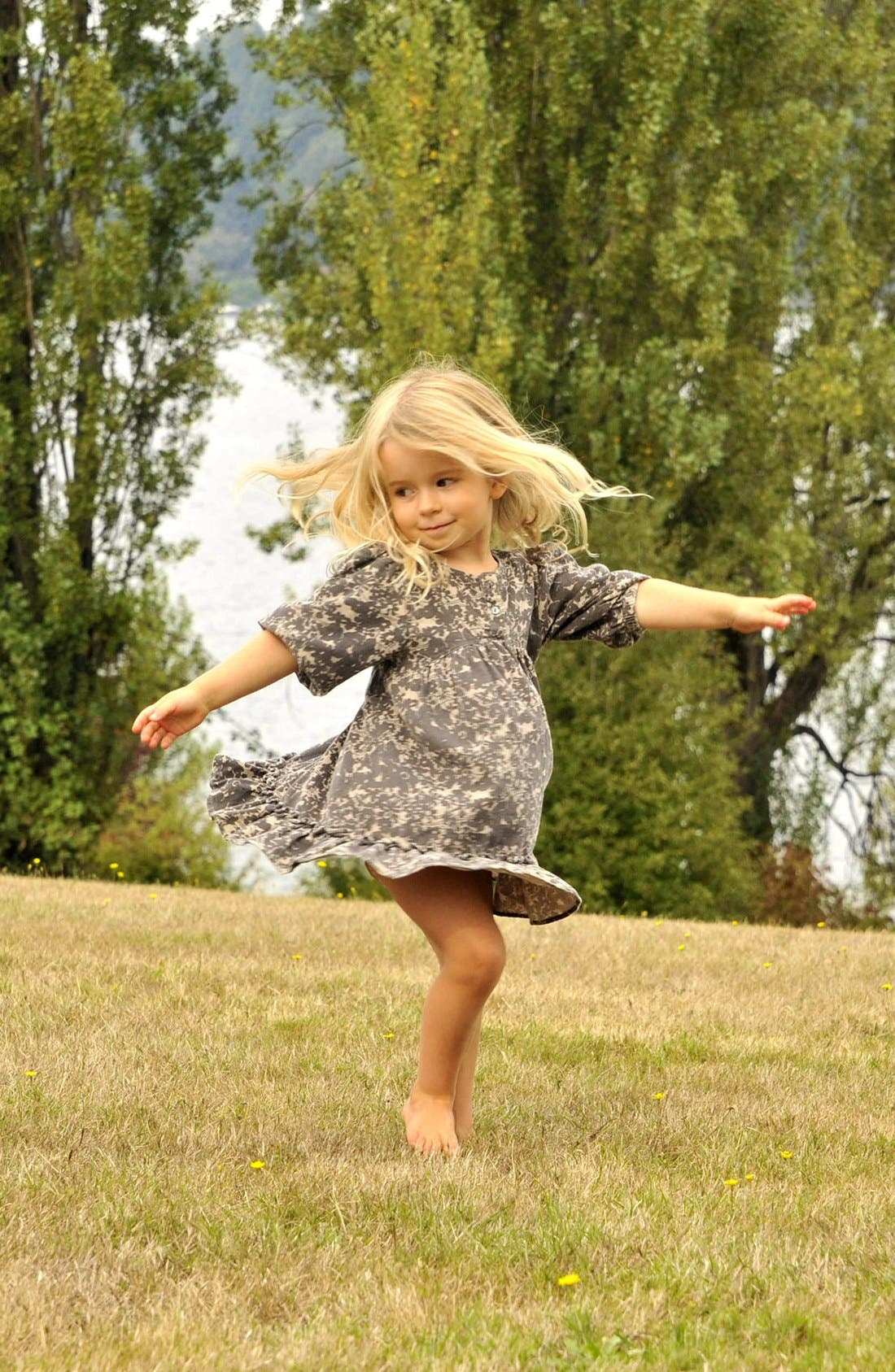 Alternate Image 2  - Peek 'Savannah' Dress (Baby Girls)