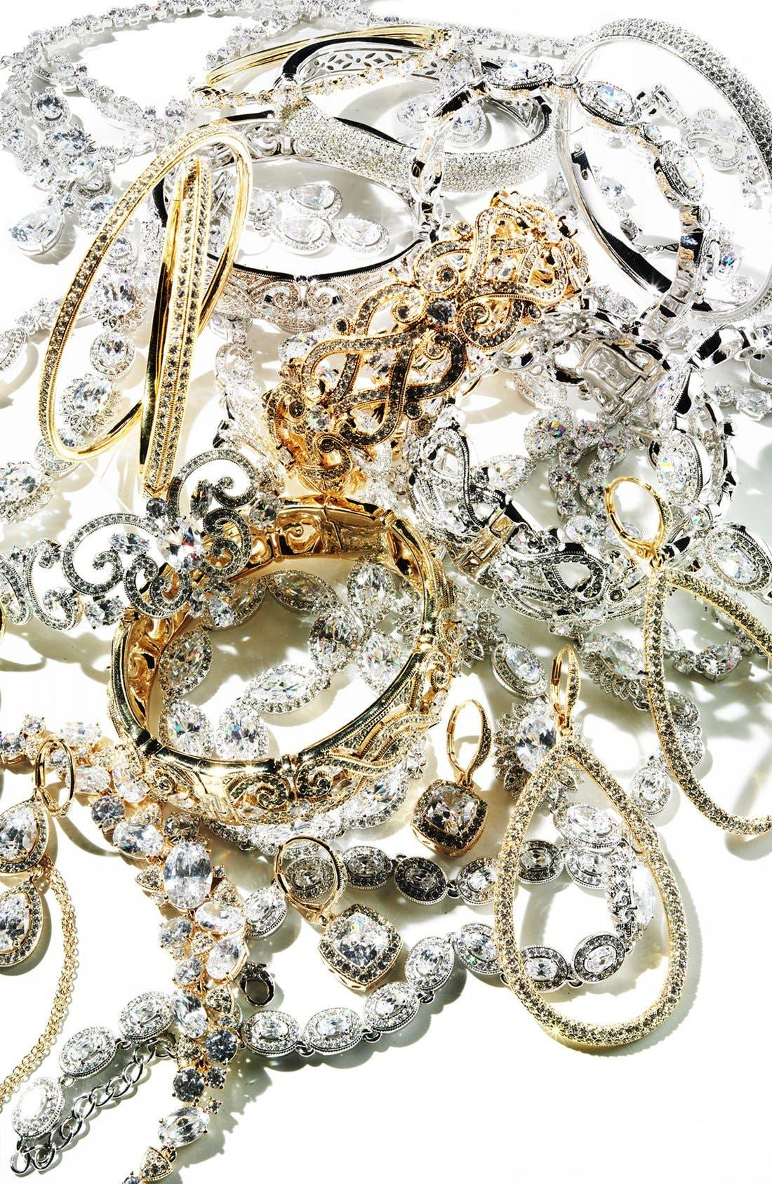 Alternate Image 4  - Nadri 'Marquise' Cubic Zirconia Necklace