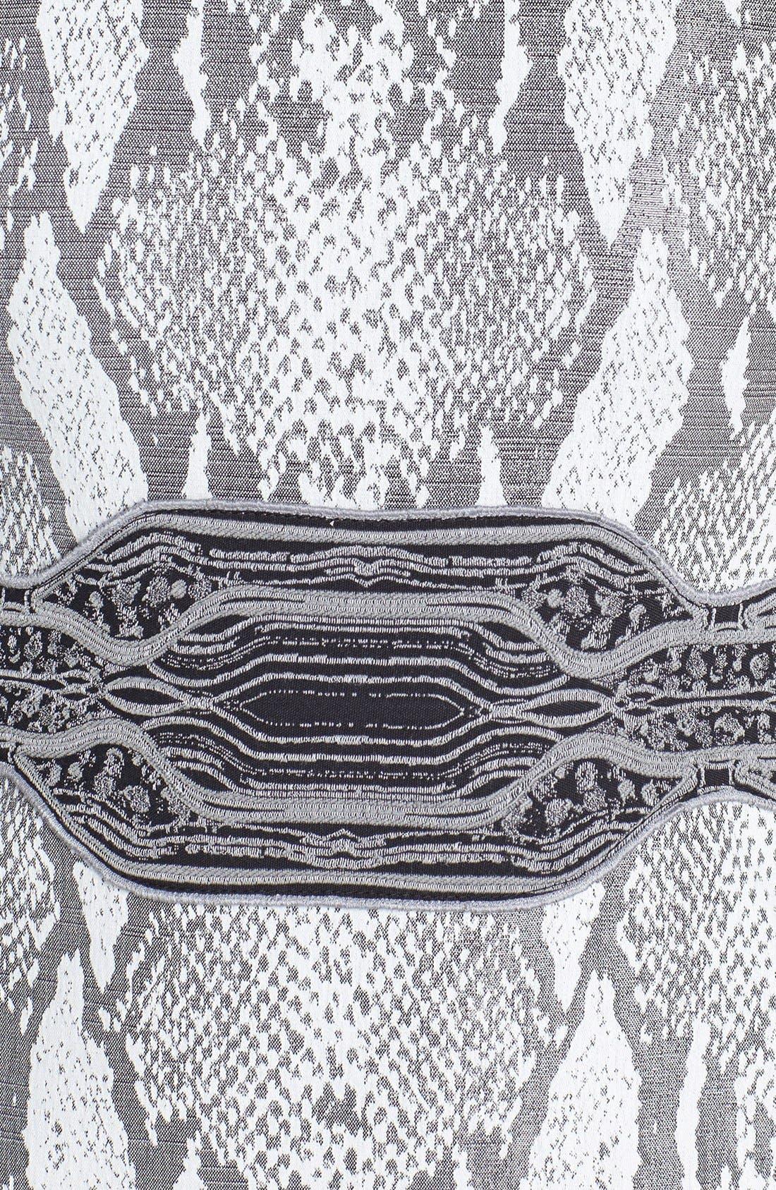 Alternate Image 3  - Diane von Furstenberg 'Bey' Snake Print Sleeveless Dress