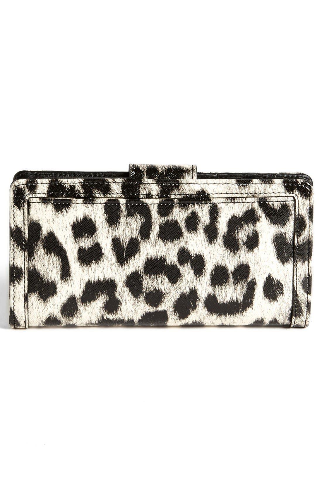 Alternate Image 3  - Halogen® 'Victoria' Leather Wallet