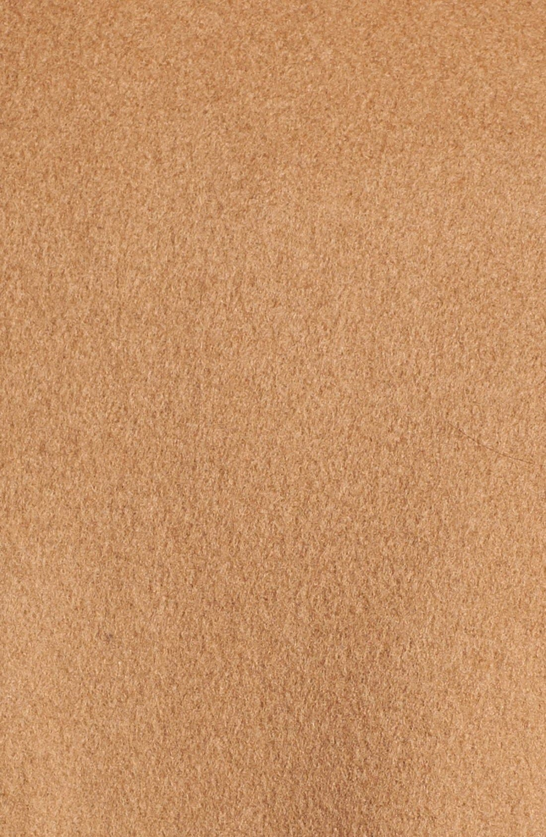 Alternate Image 3  - George Simonton Couture Long Wool Blend Wrap Coat