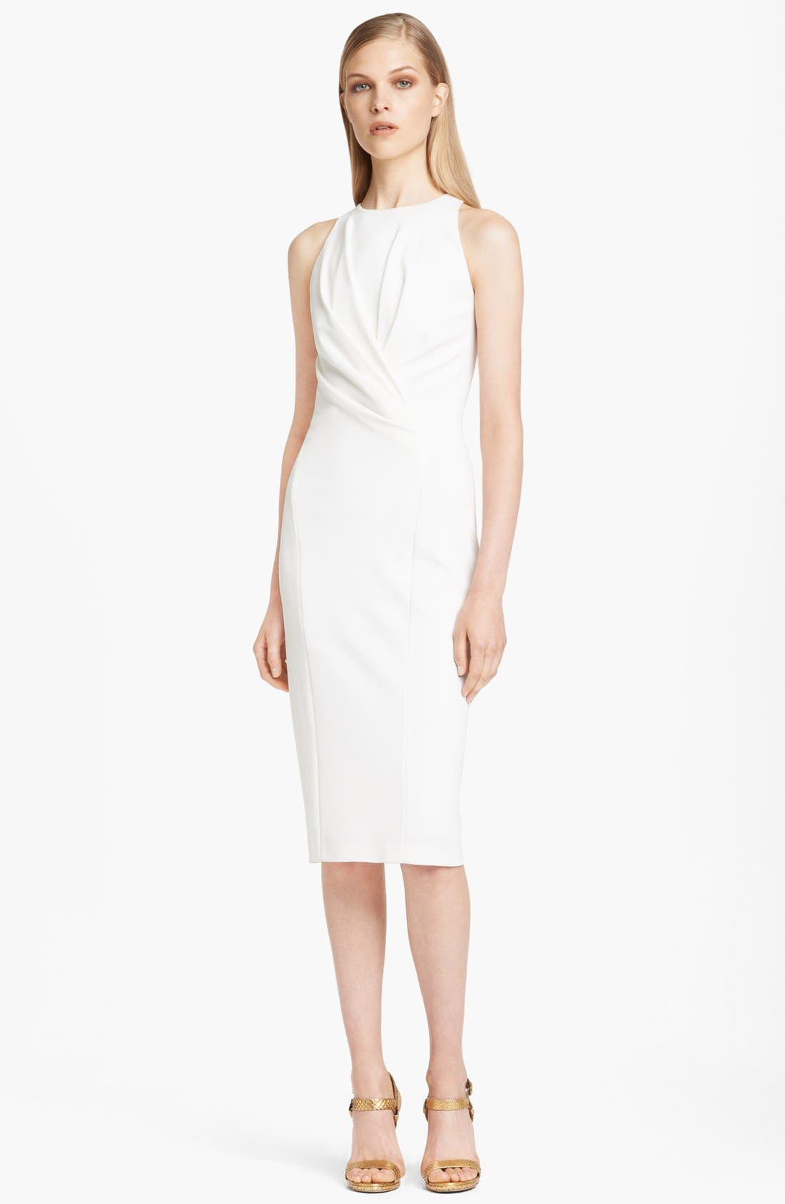 Alternate Image 1 Selected - Donna Karan Collection Draped Fluid Crepe Jersey Dress