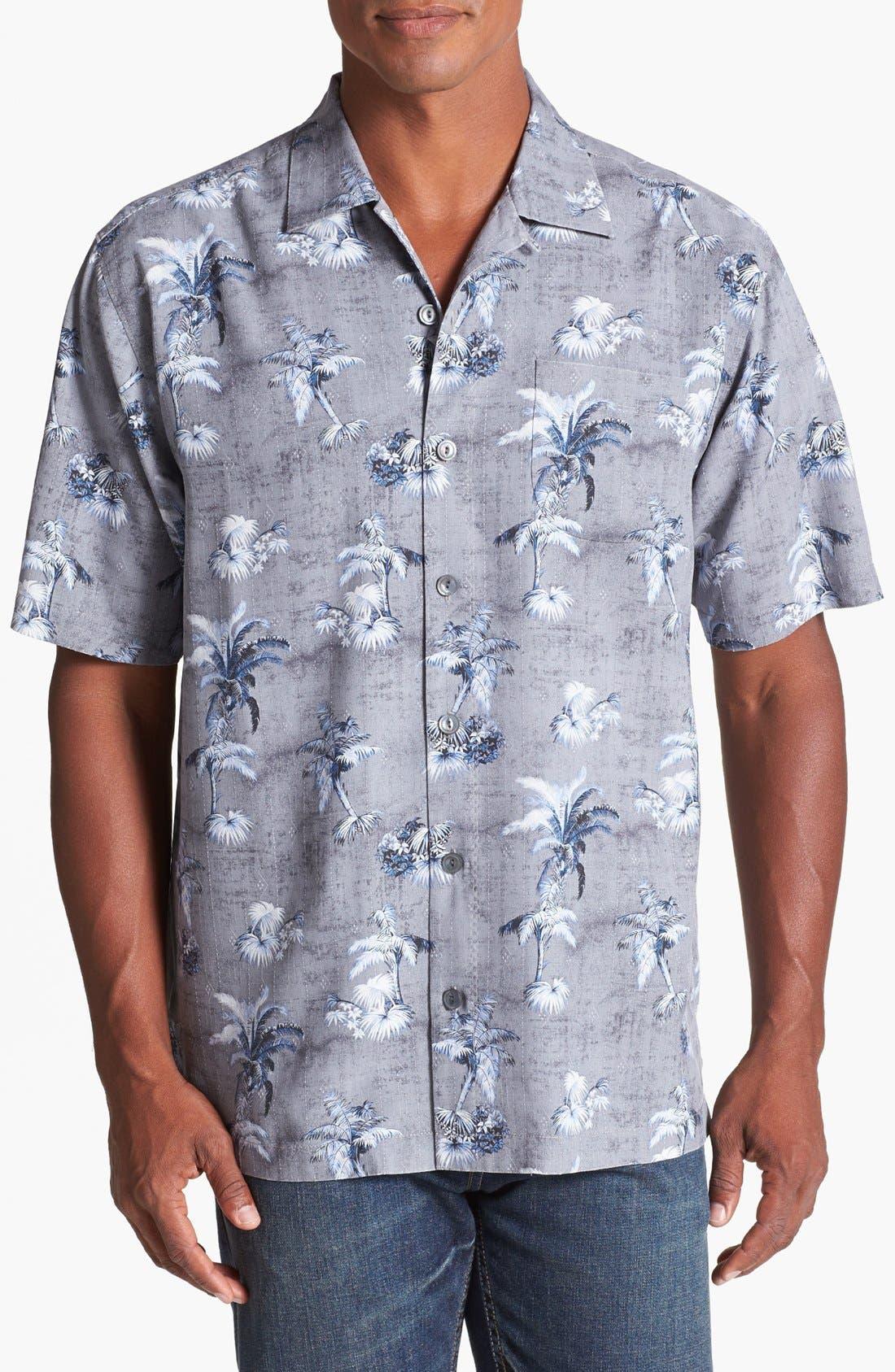 Alternate Image 1 Selected - Tommy Bahama 'Arabian Oasis' Campshirt