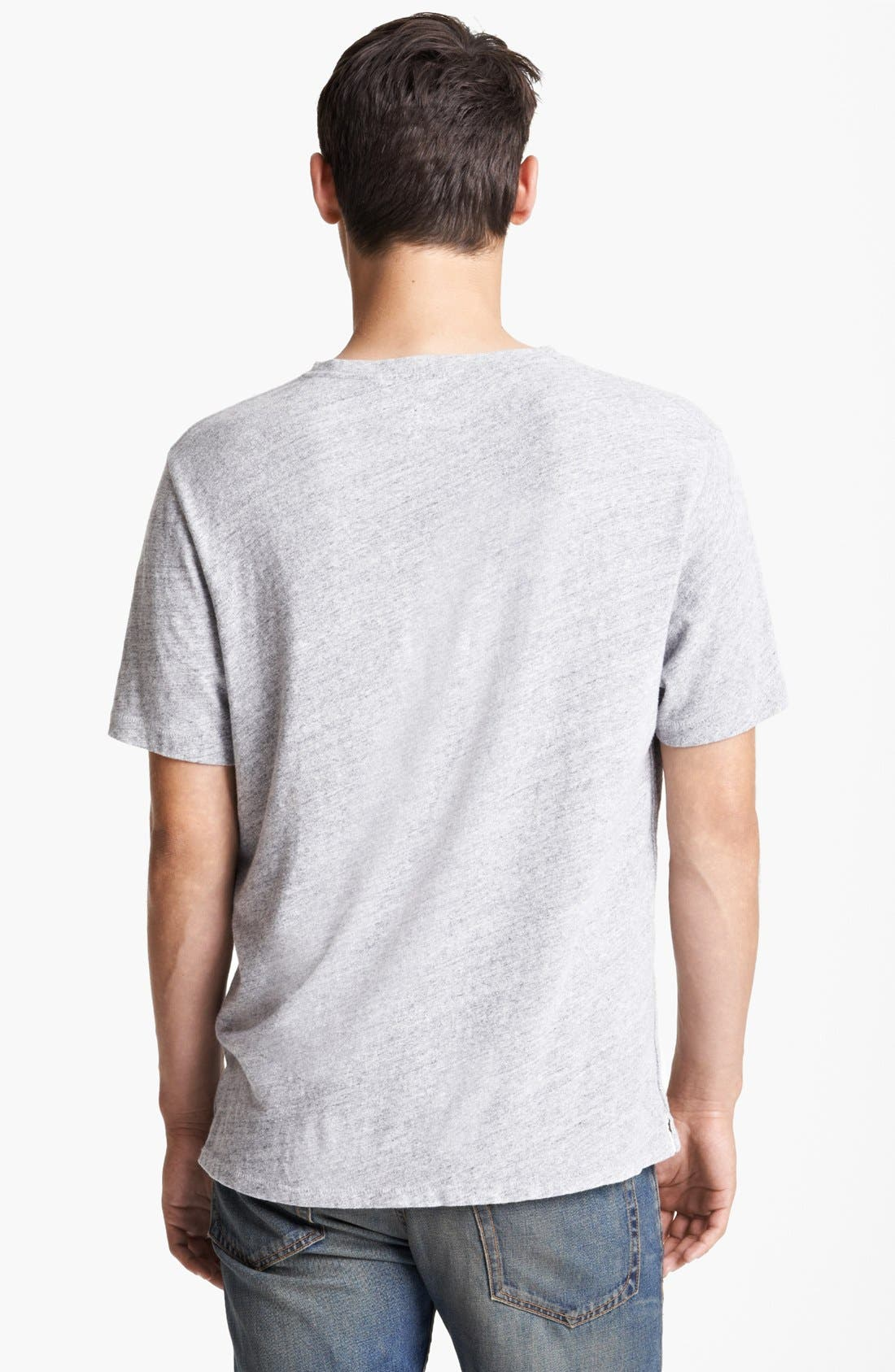 Alternate Image 2  - rag & bone Alphabet Print Pocket T-Shirt