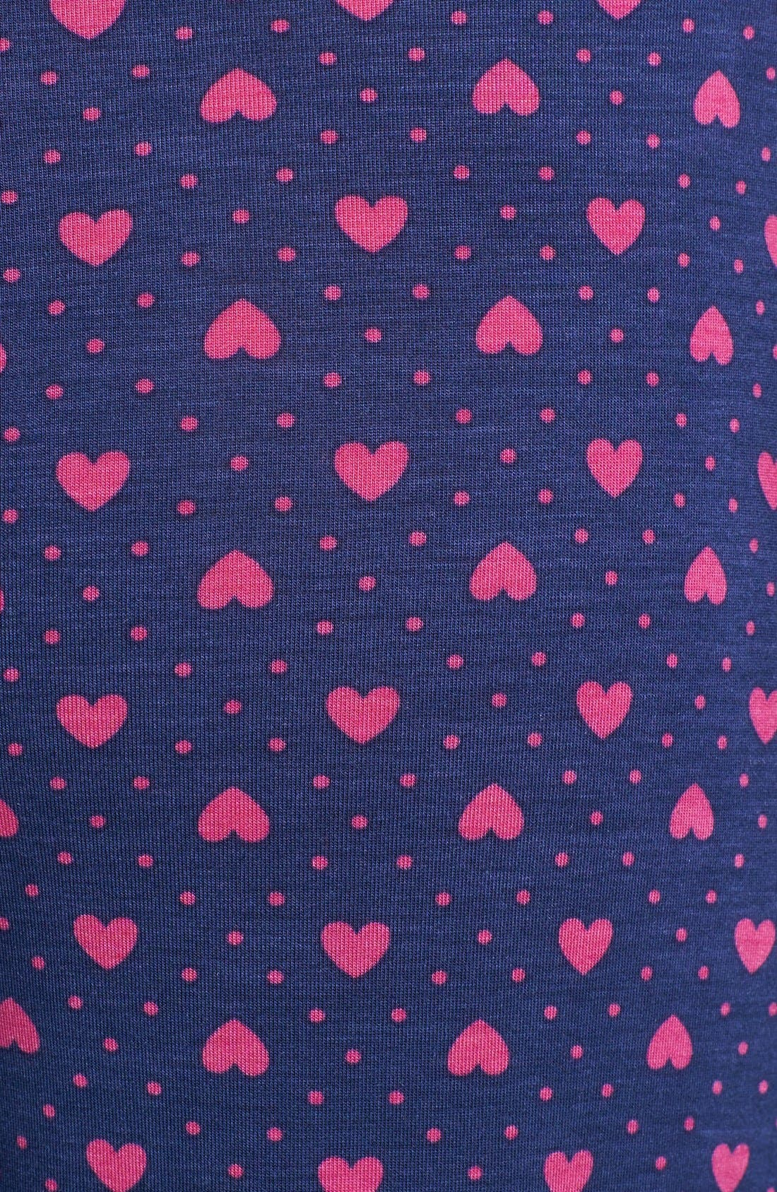 Alternate Image 4  - PJ Salvage 'Queen of Hearts' Lounge Pants
