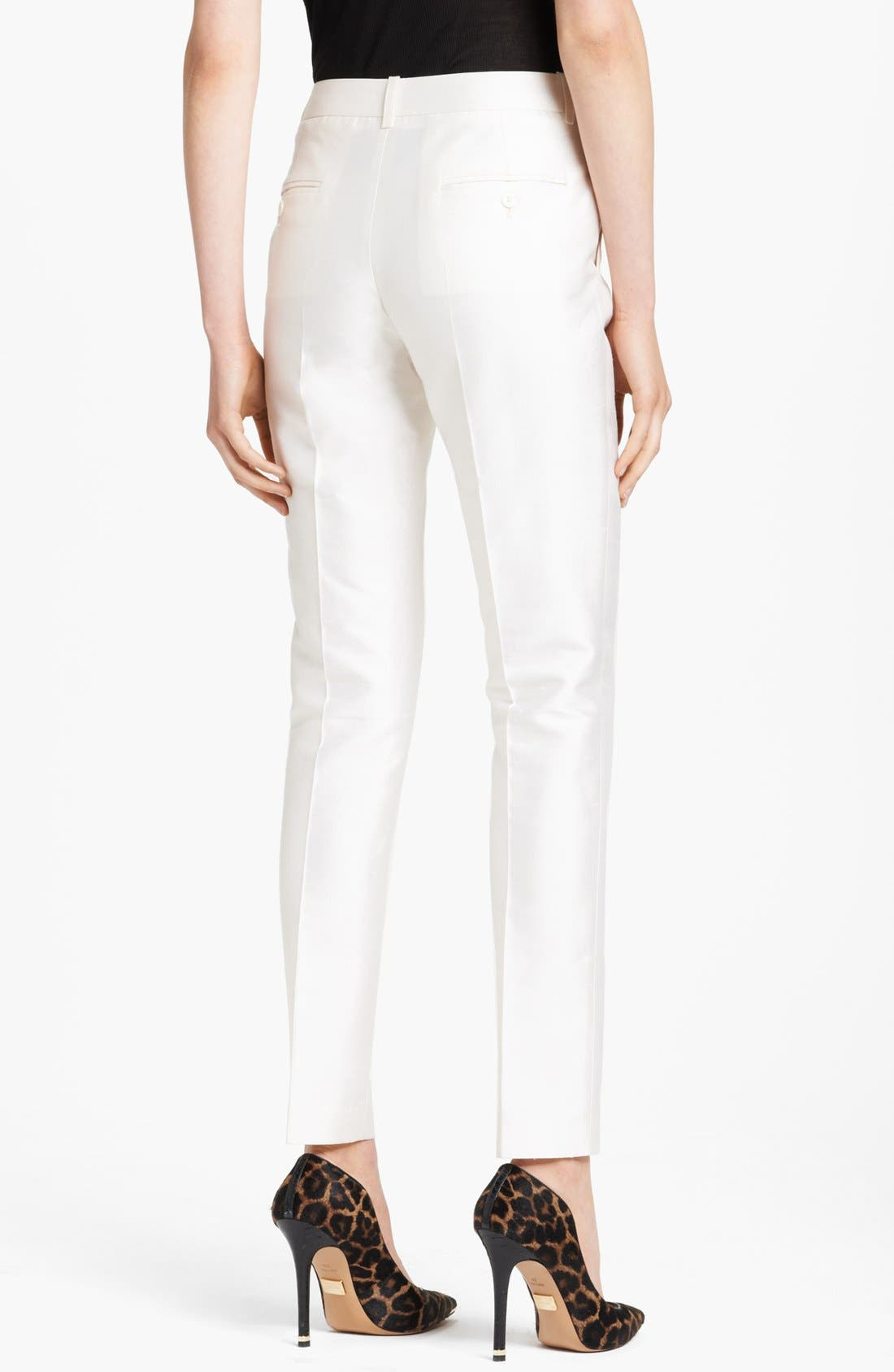 Alternate Image 2  - SHANTUNG SAMANTHA PANT