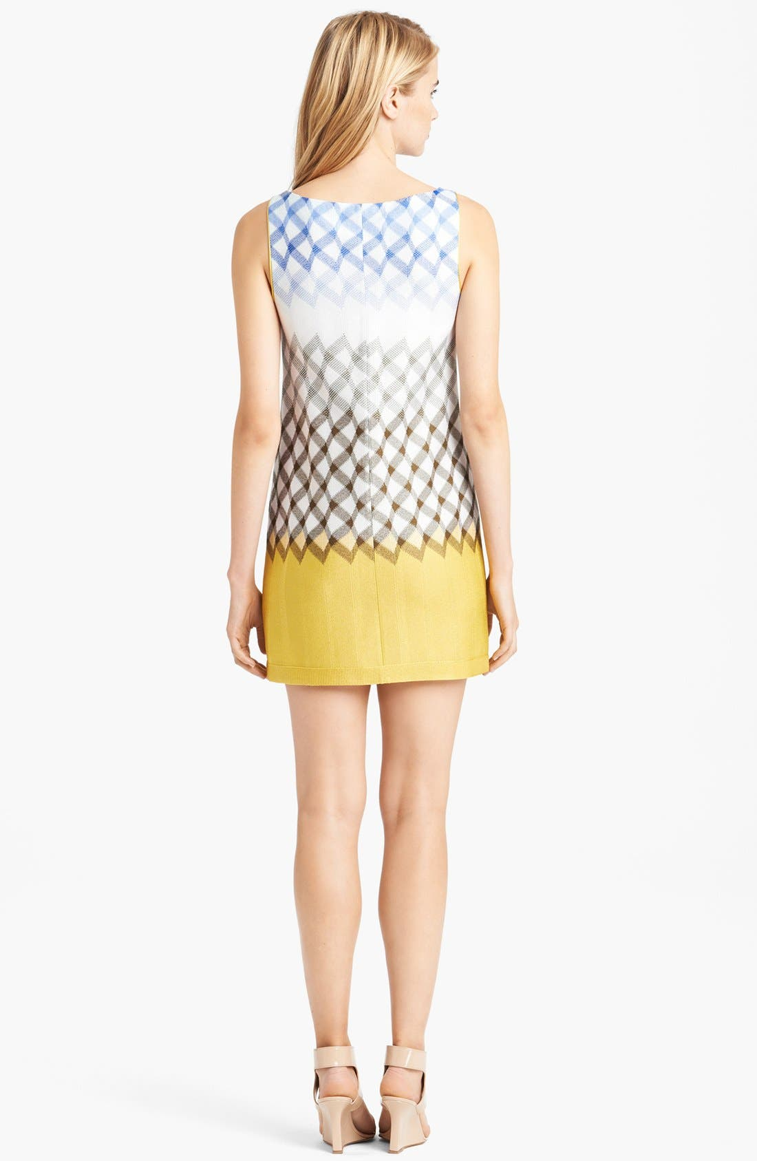 Alternate Image 2  - Missoni Boatneck Geometric Dégradé Dress